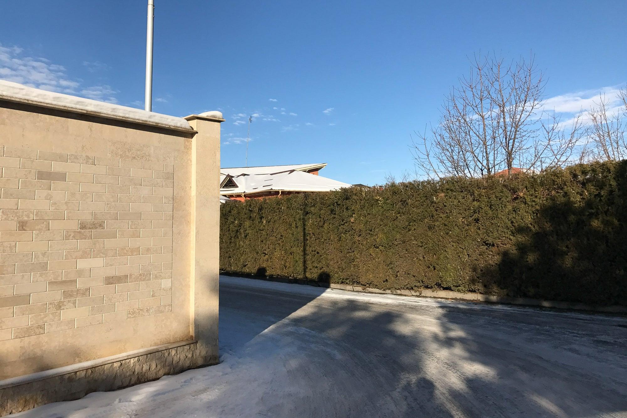 neighborhood of the Uzbek Embassy