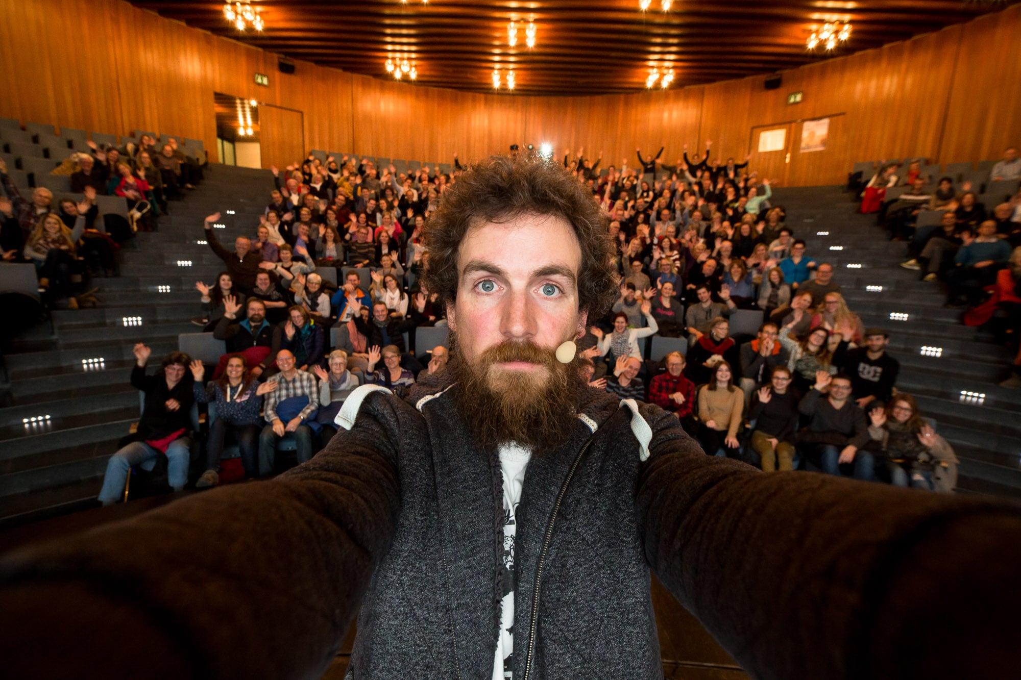 speaking in Wetzikon