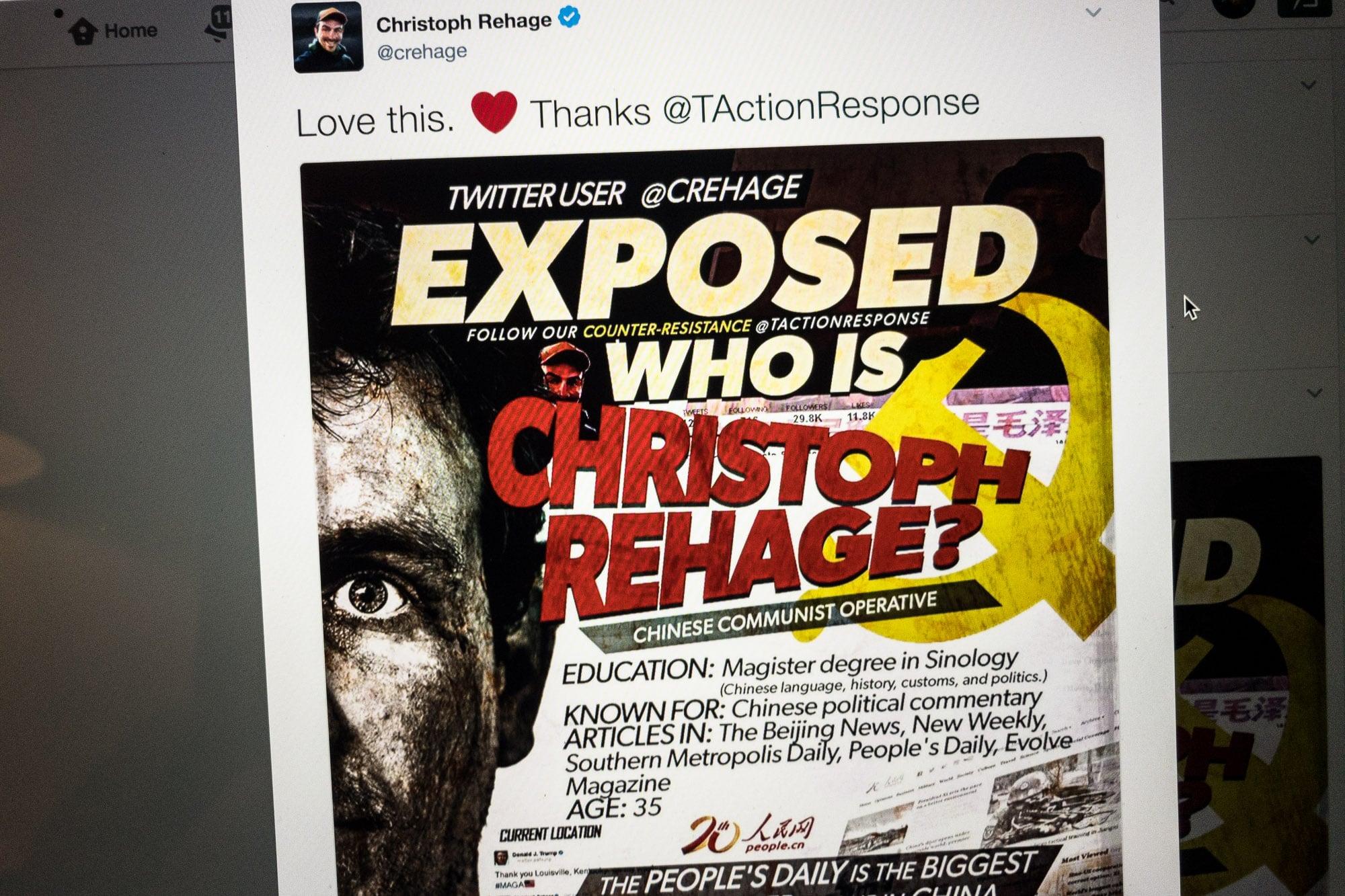 "Christoph Rehage ""exposed"""
