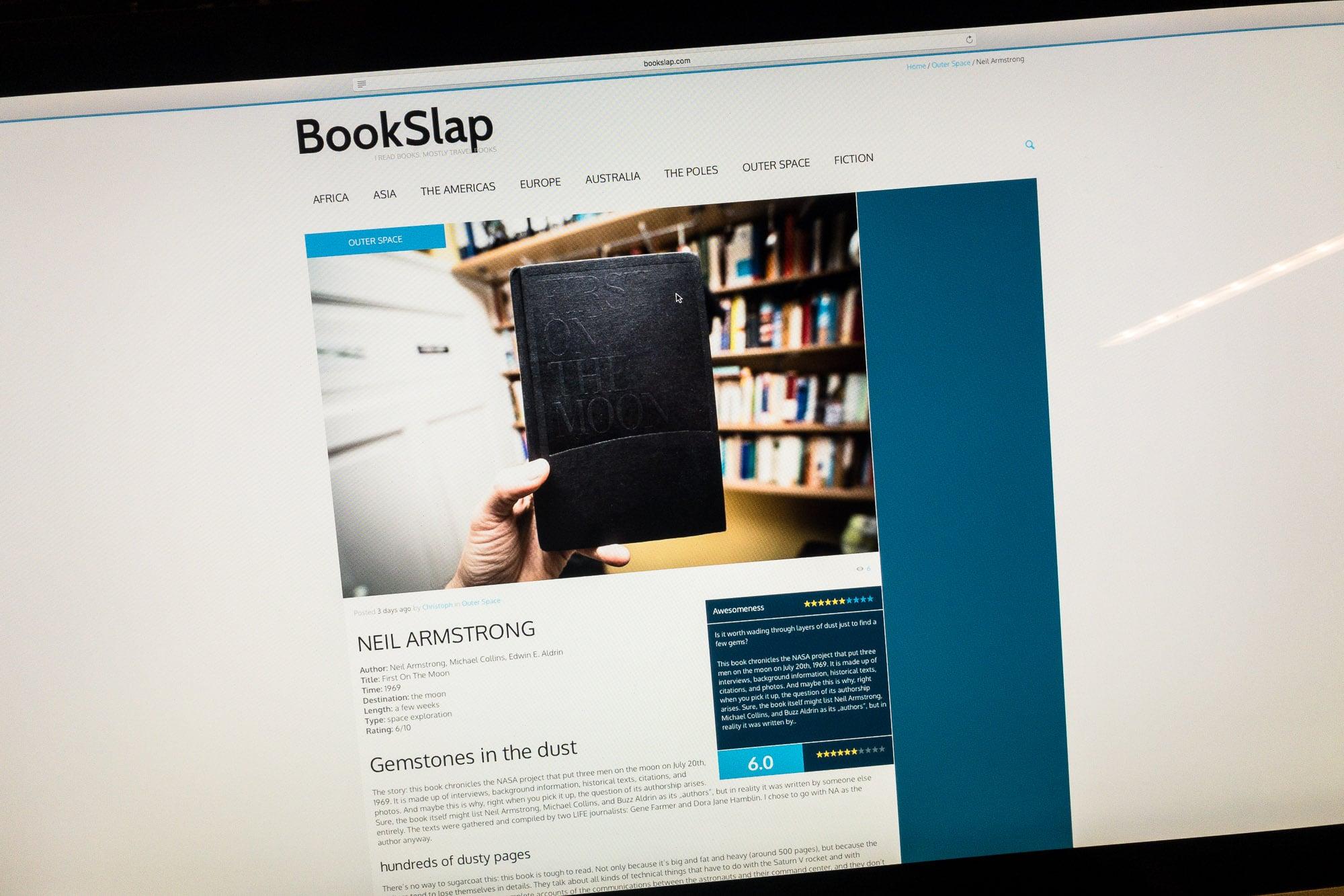 BookSlap Armstrong