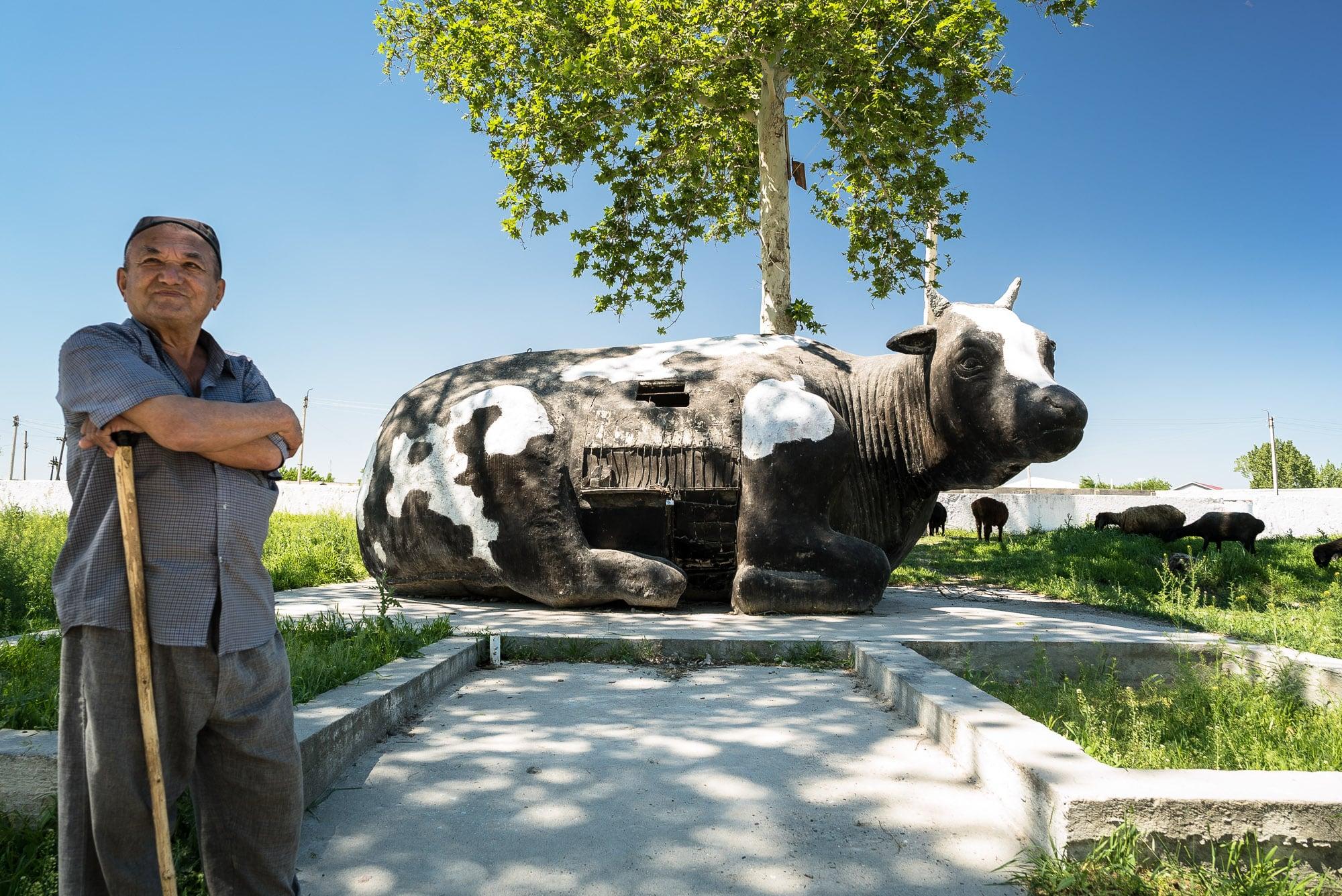 cow monument