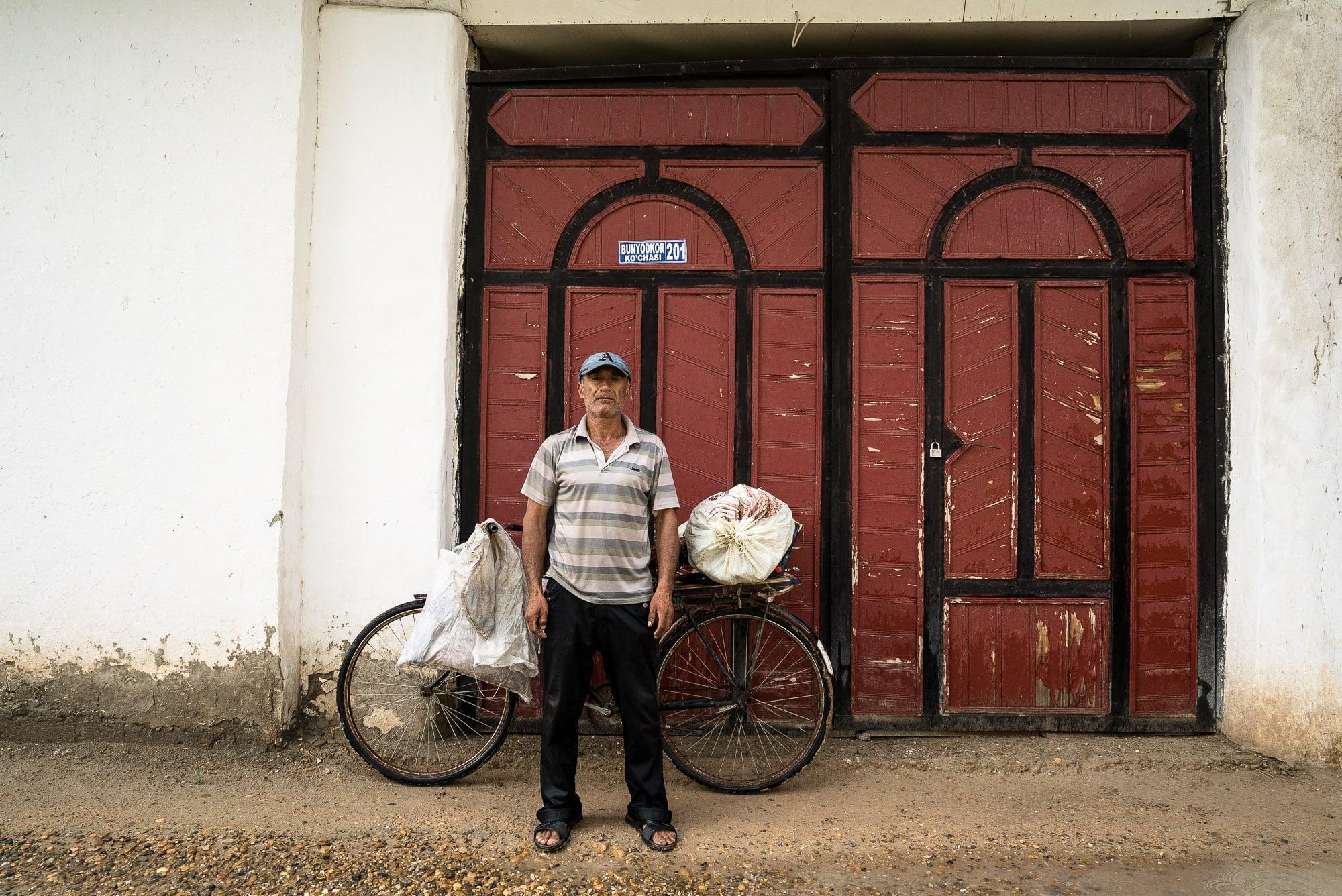 Khalmurat's door