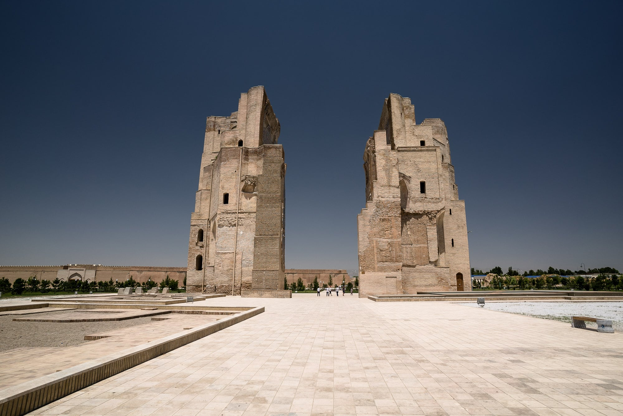 Ak-Saray Palace Ruins