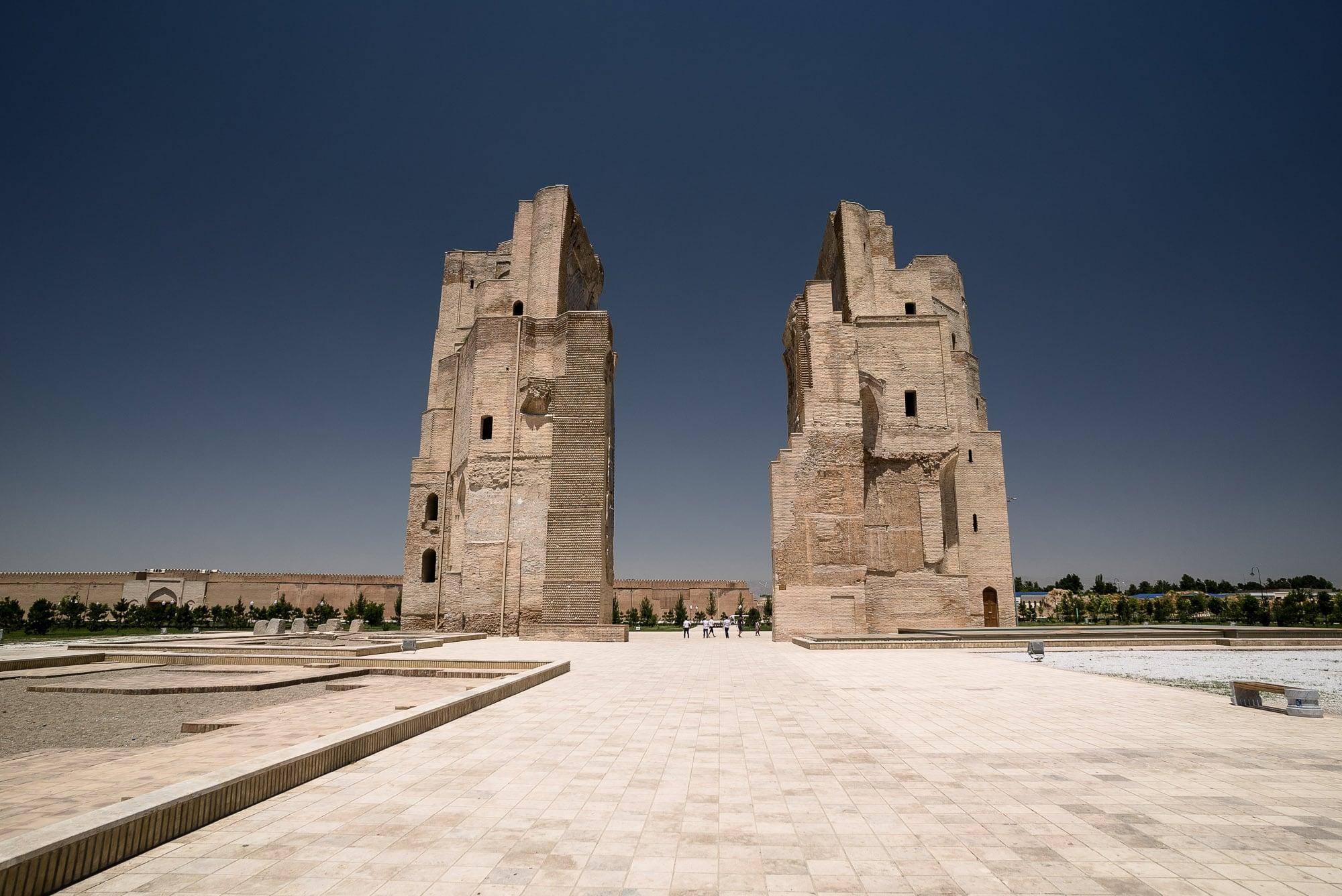 Ak-Saray Palace Ruins