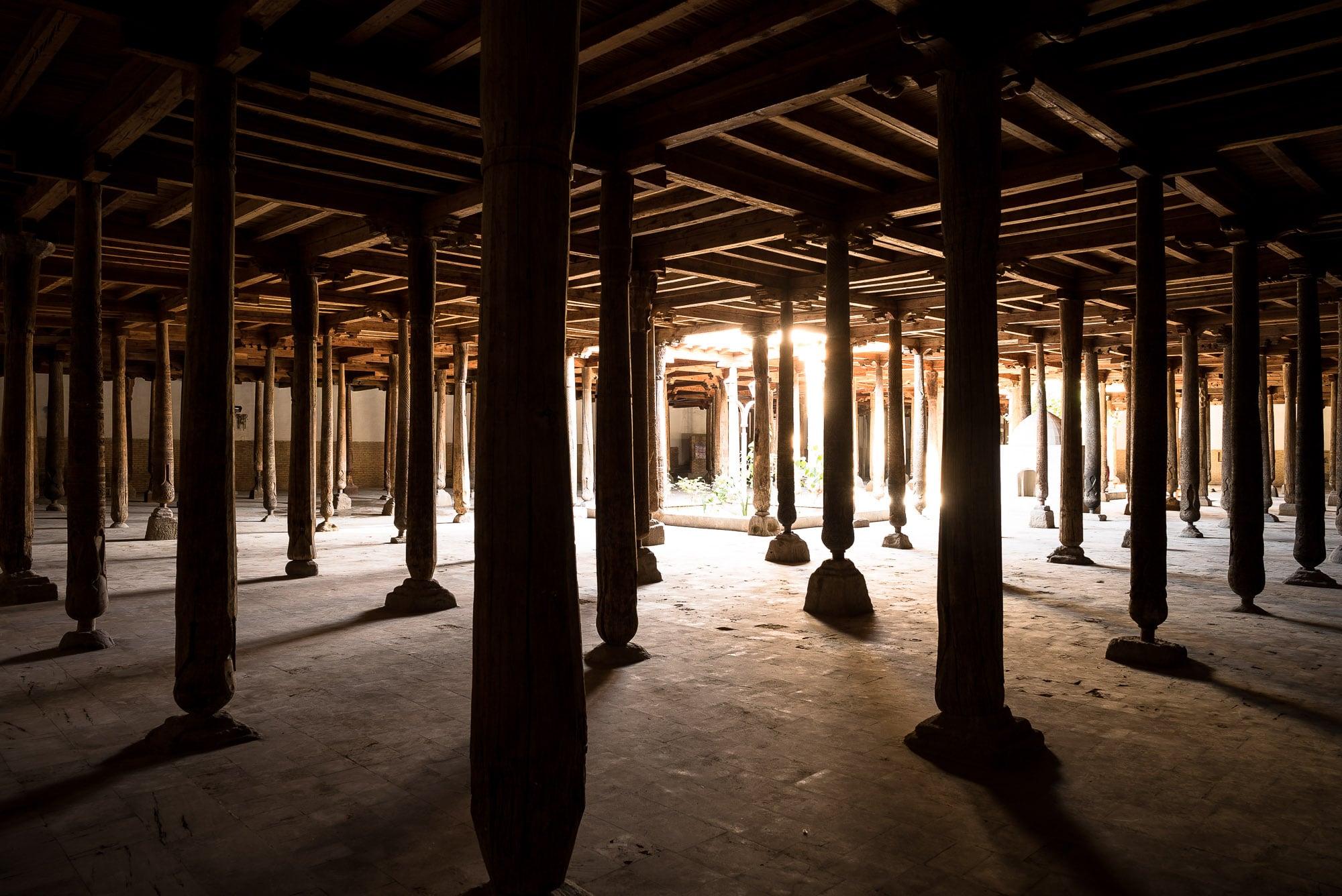 Juma Mosque light