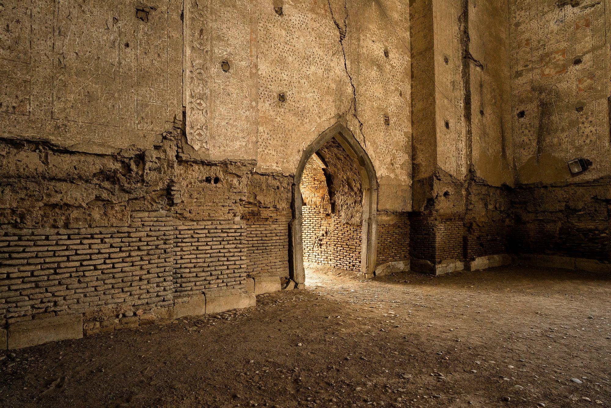 ruins of Bibi-Khanym Mosque