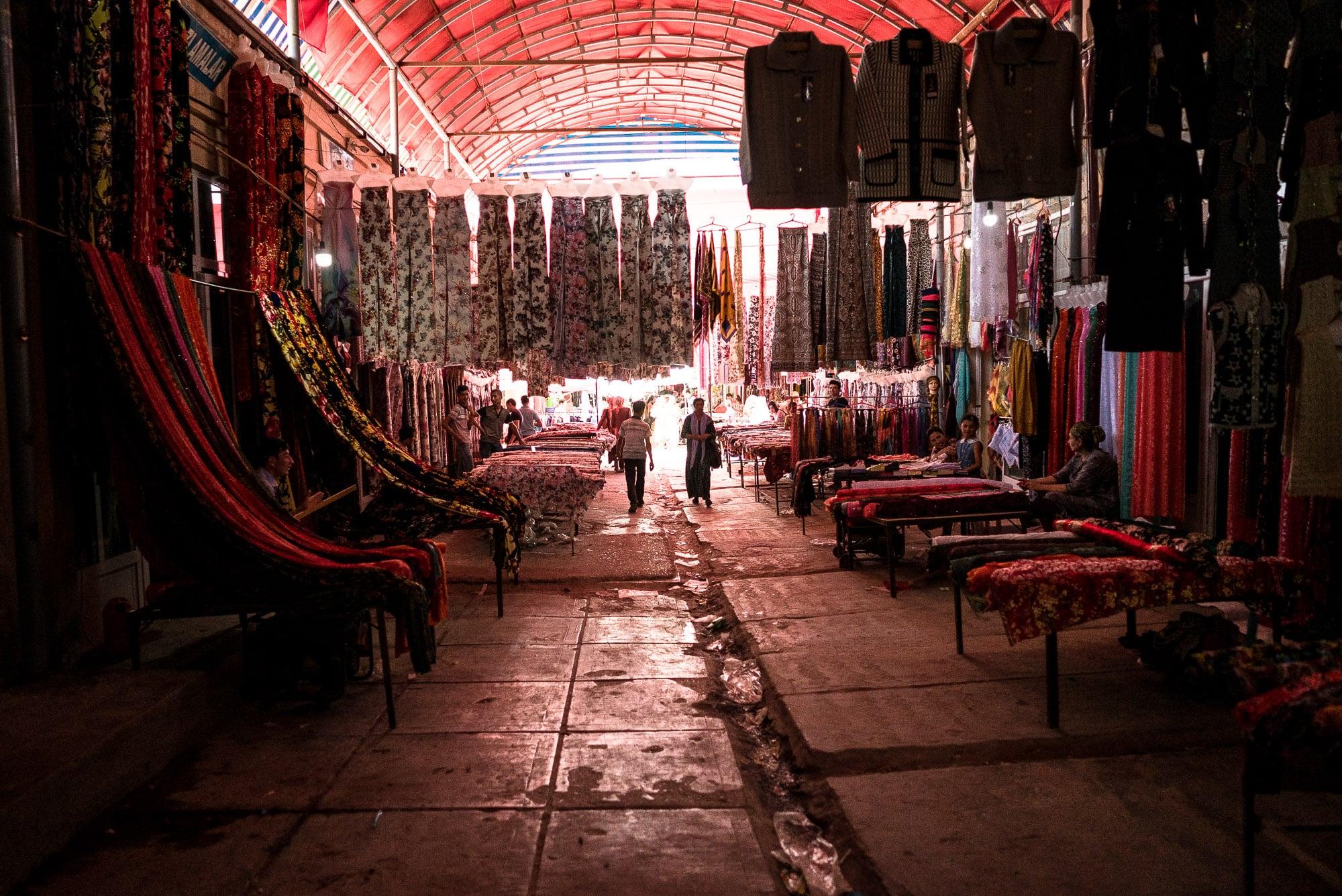 within Urgut Bazaar