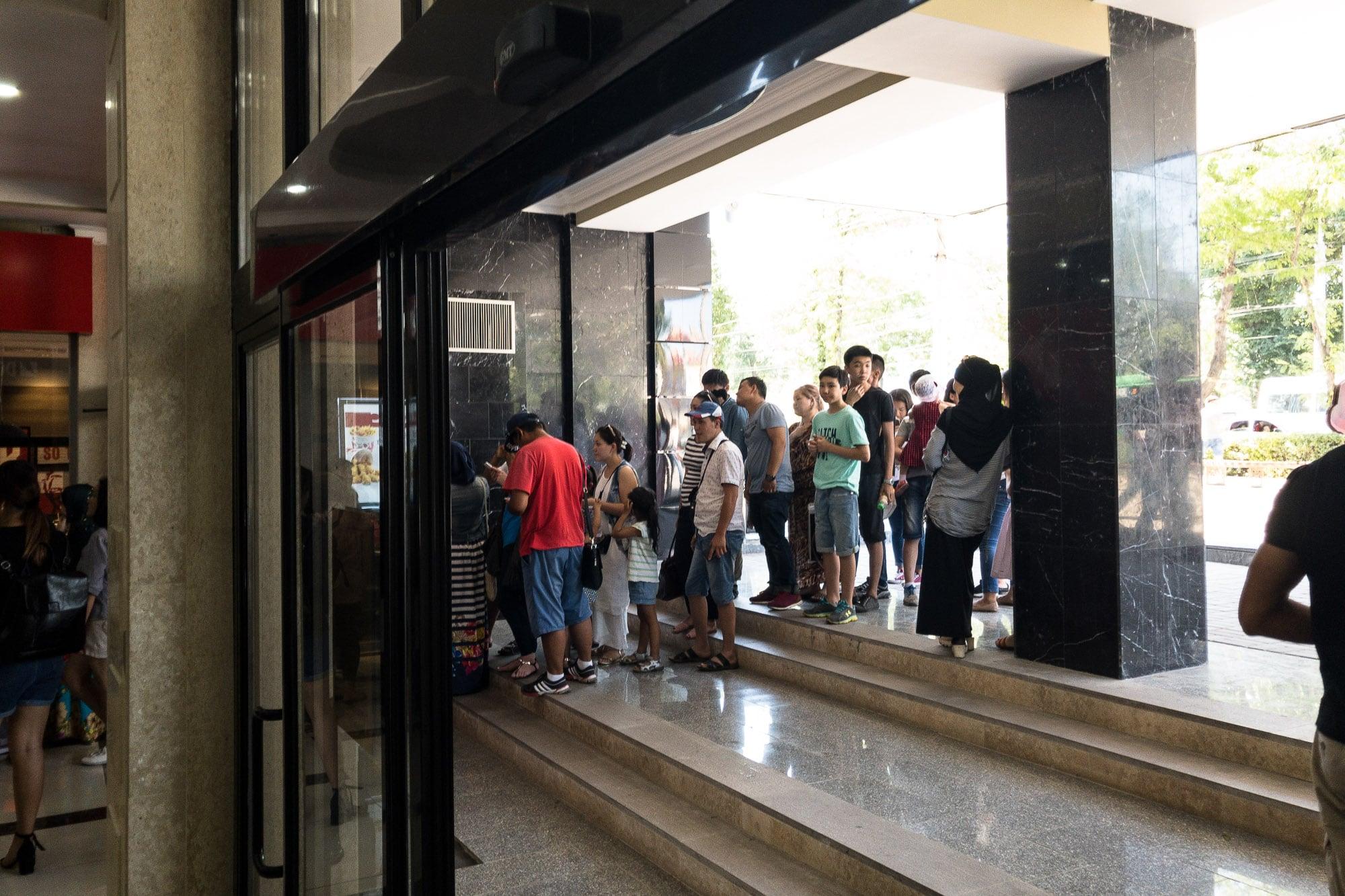 KFC opening in BishkeK