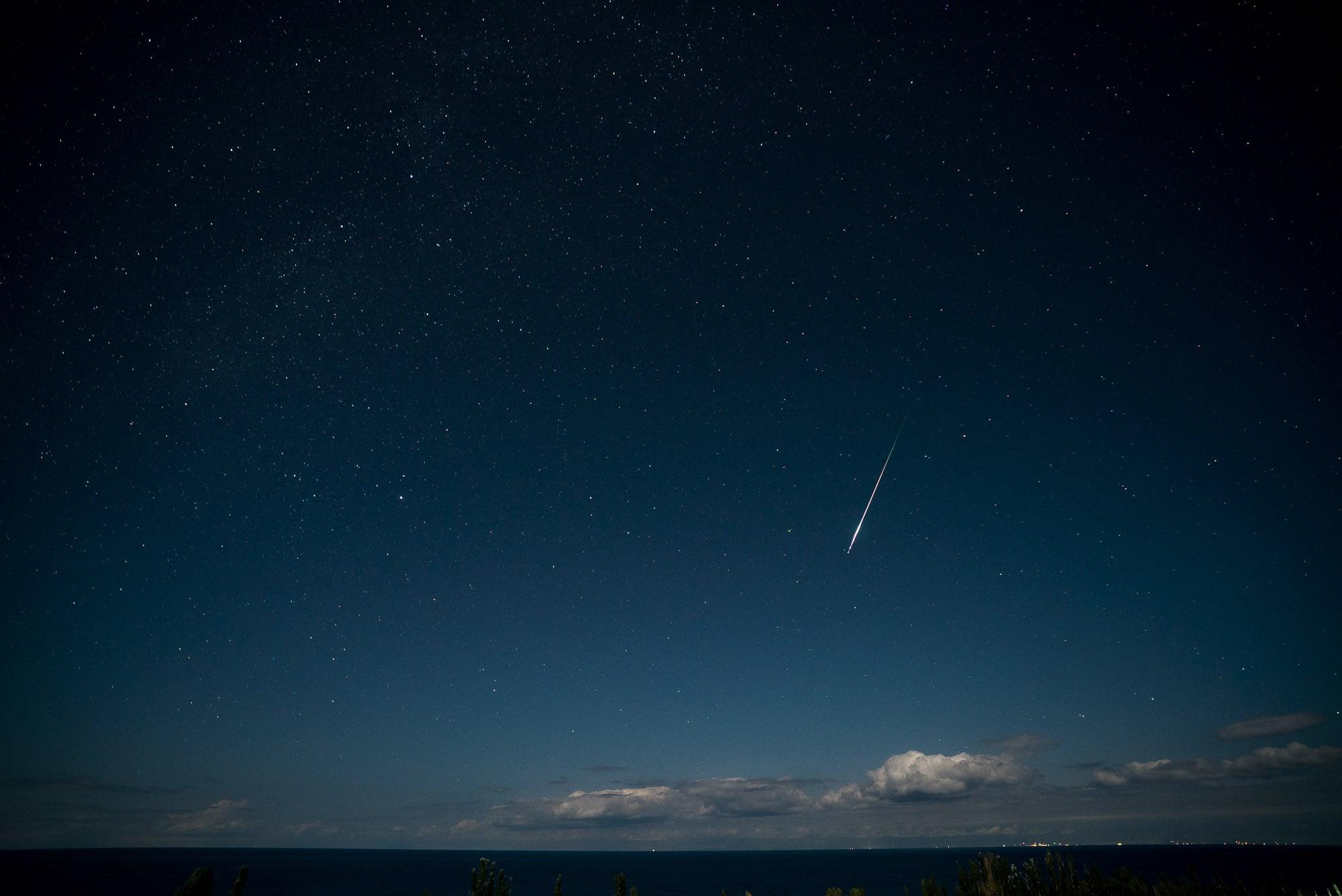 bigger shooting star