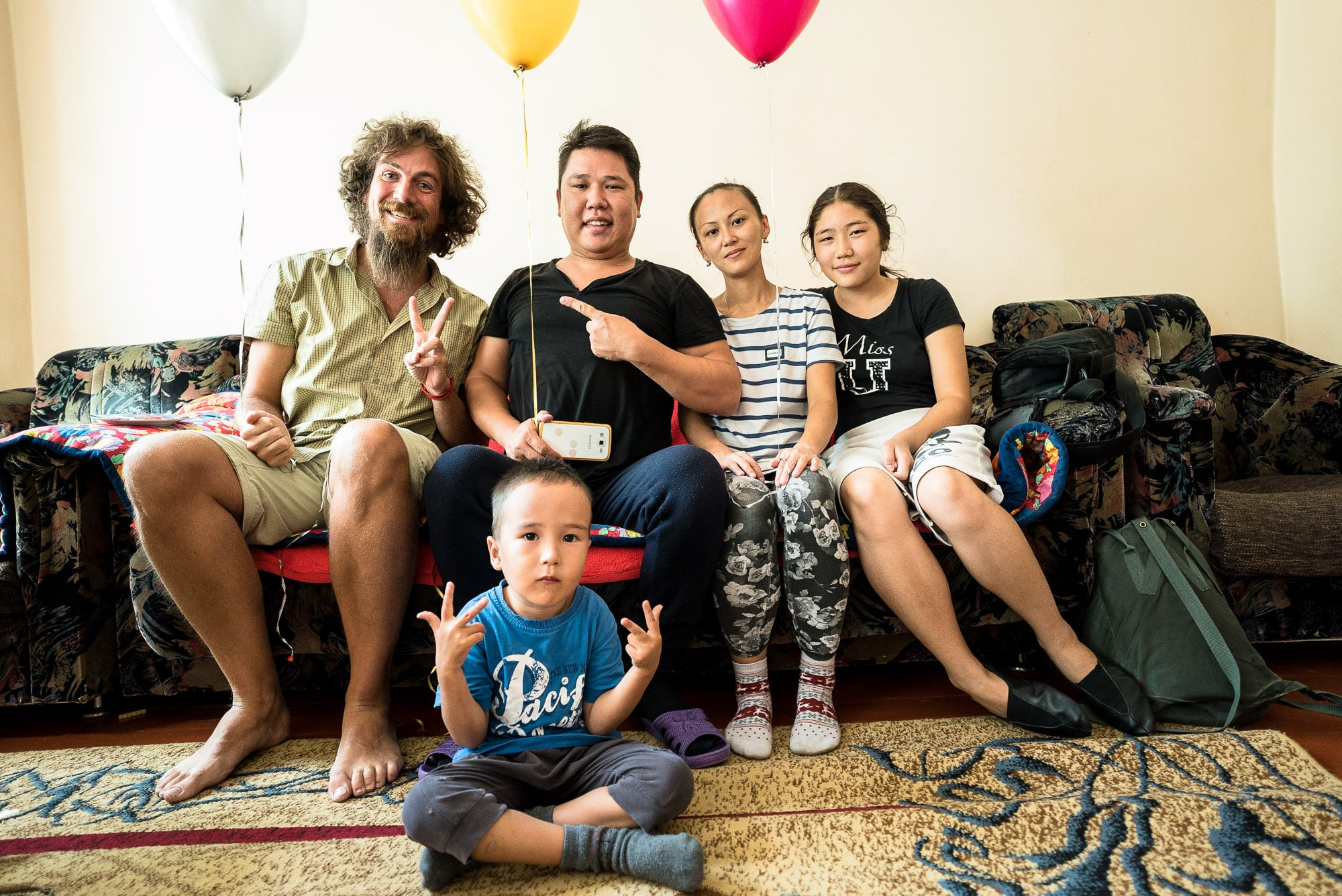 Urmat's family