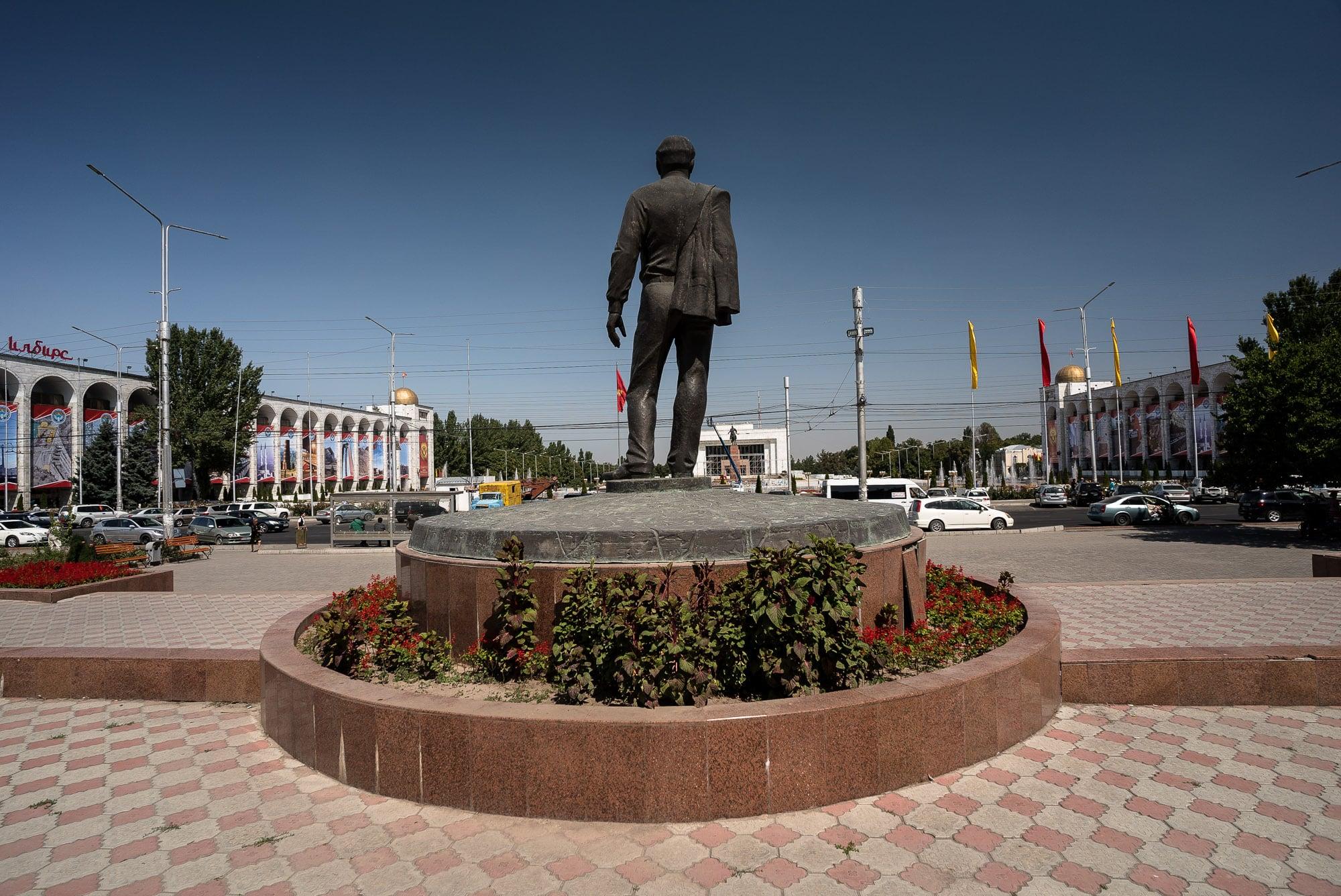 Aitmatov monument