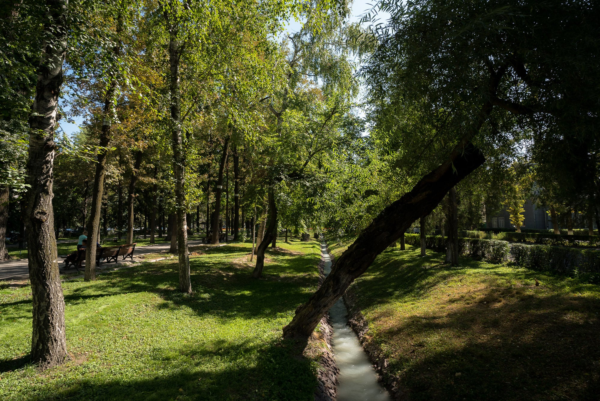 Bishkek in the summer