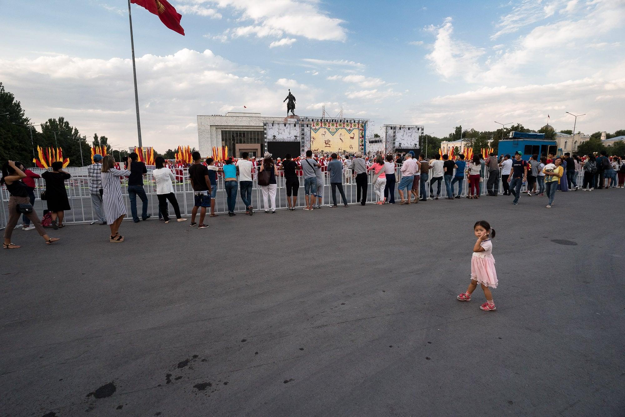 festivities in Bishkek
