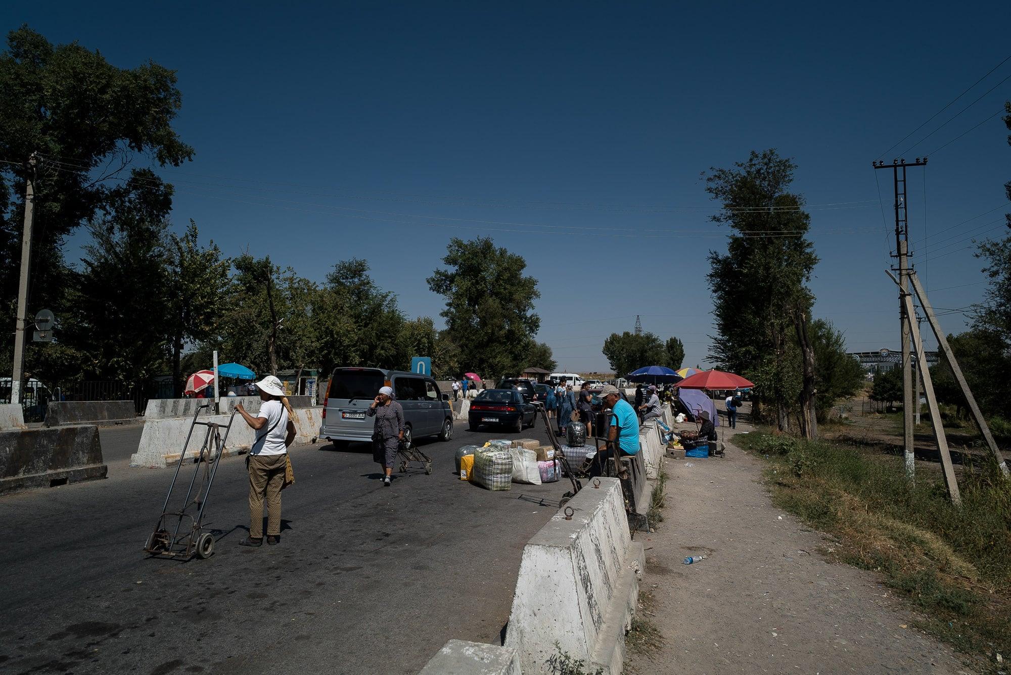 border at Kurdai