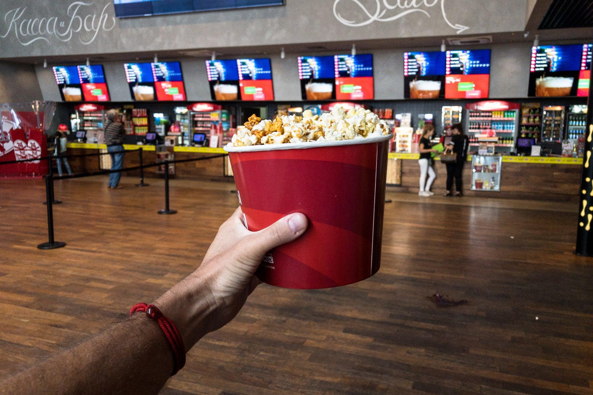 popcorn in Mega