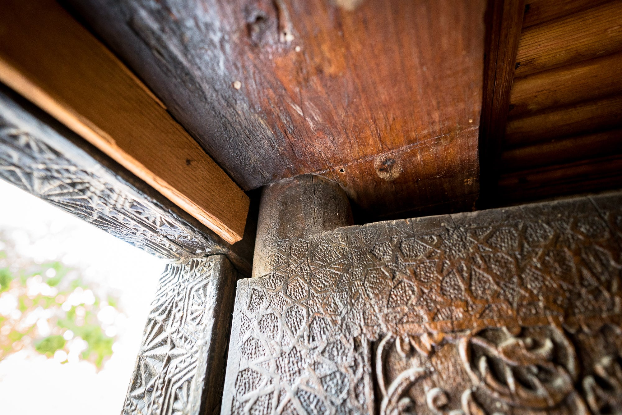 traditional Uzbek door