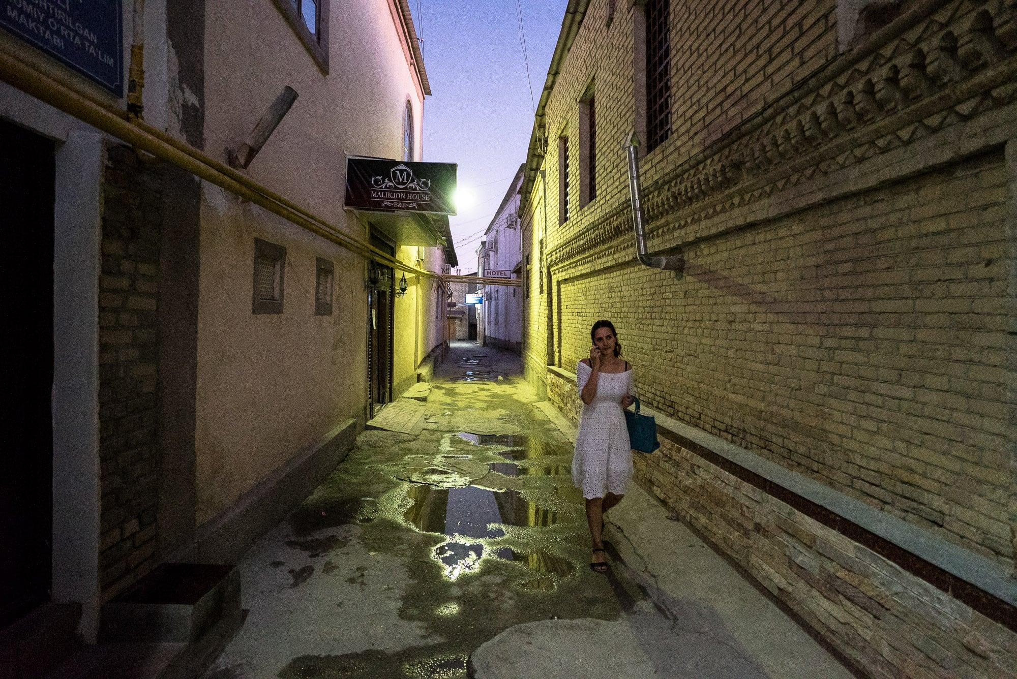 Bukhara back street