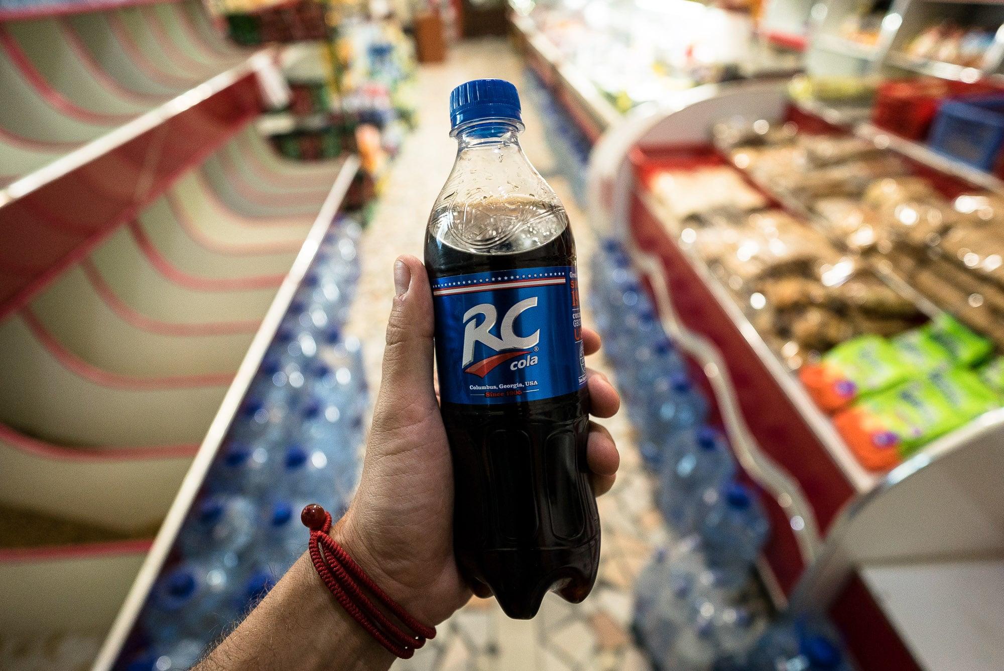 RC Cola conquering Uzbekistan?