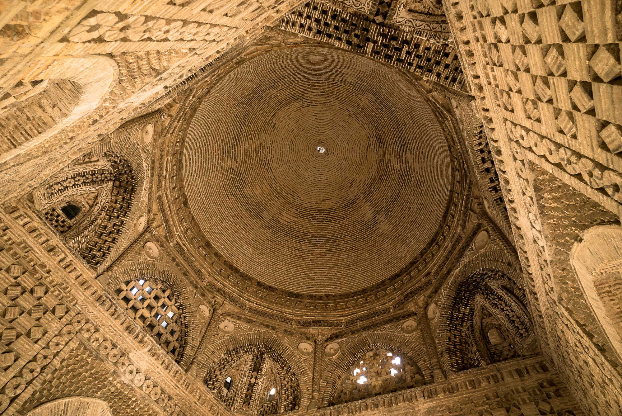 ceiling of the mausoleum