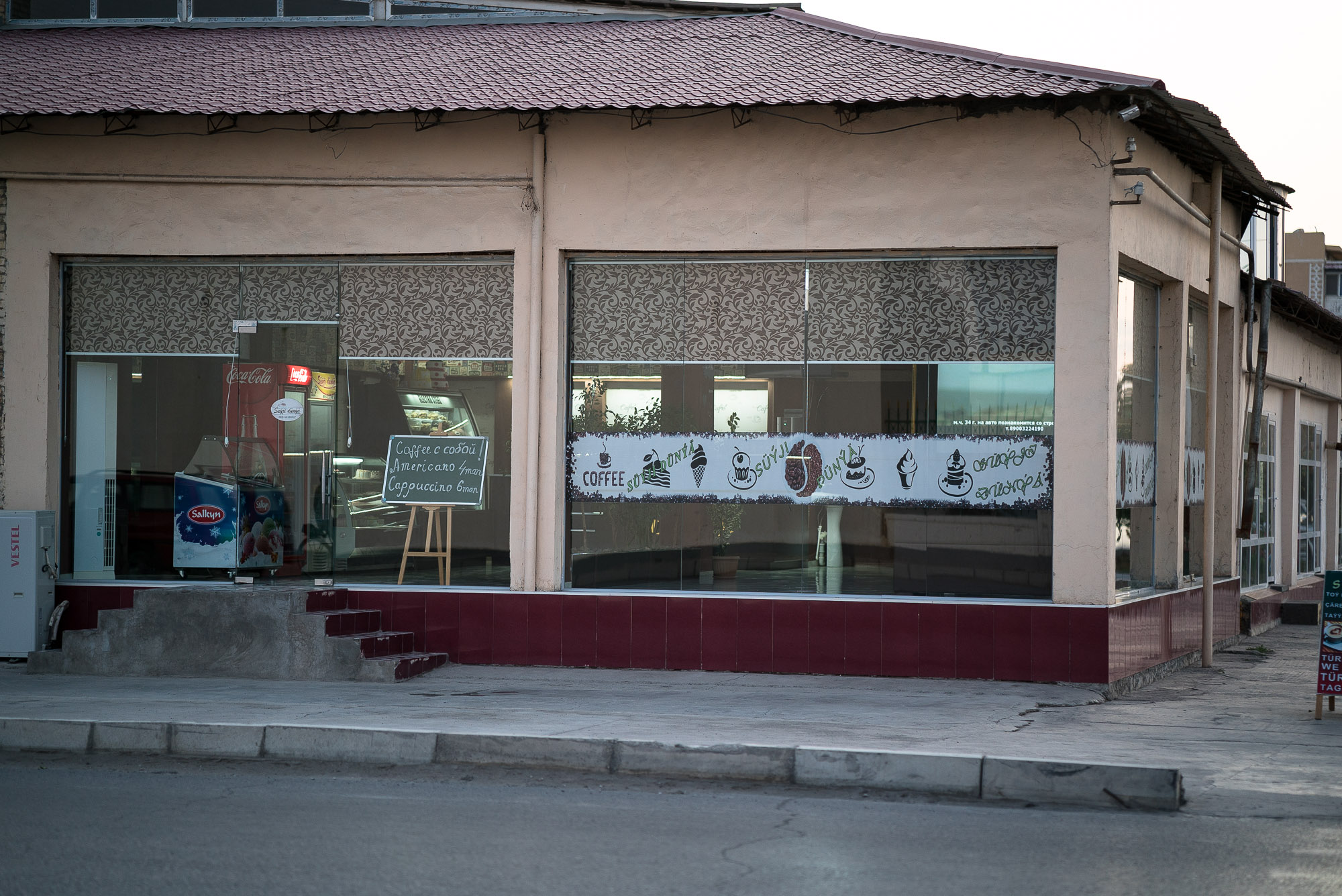 cafe in Turkmenabat
