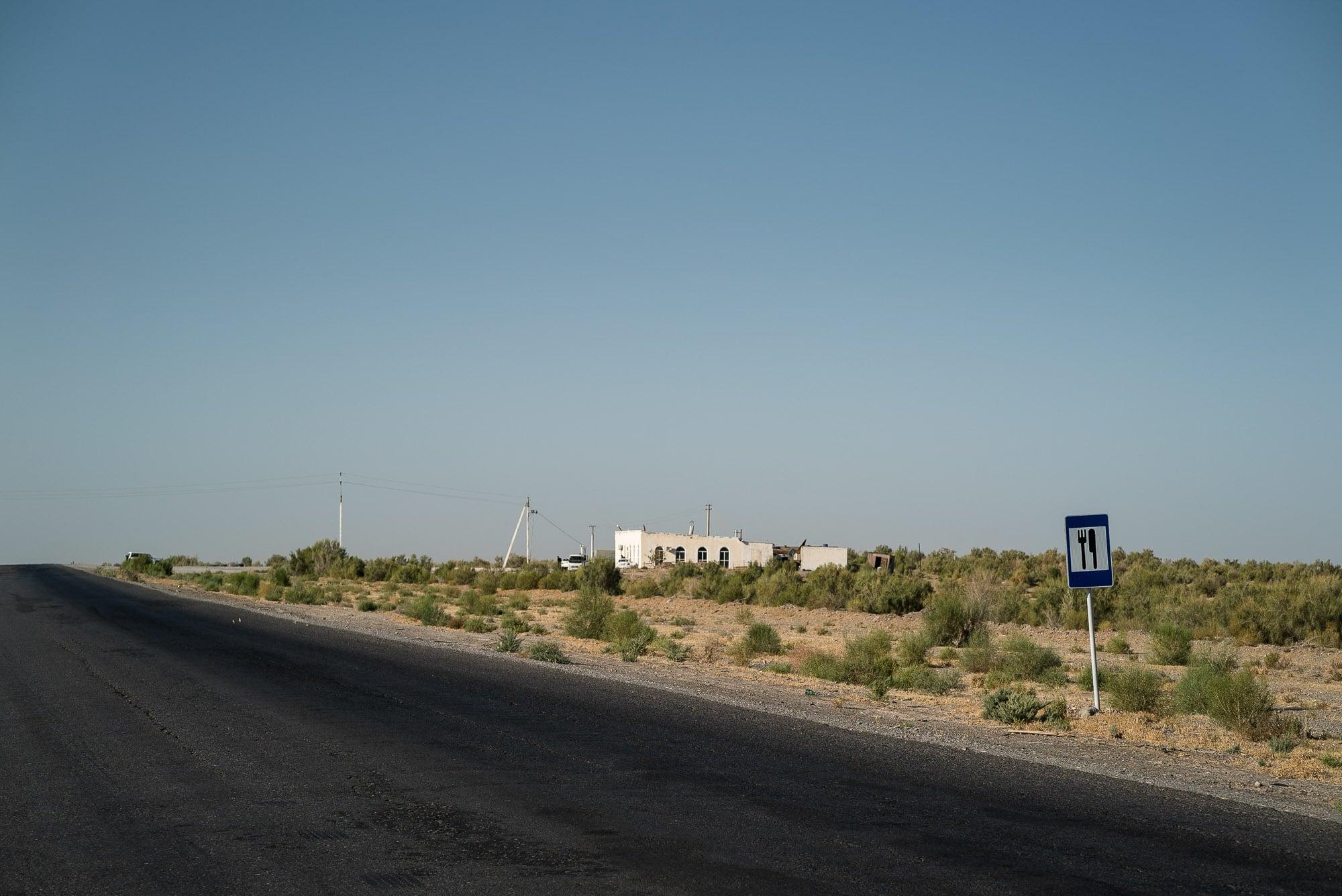 restaurant in the desert