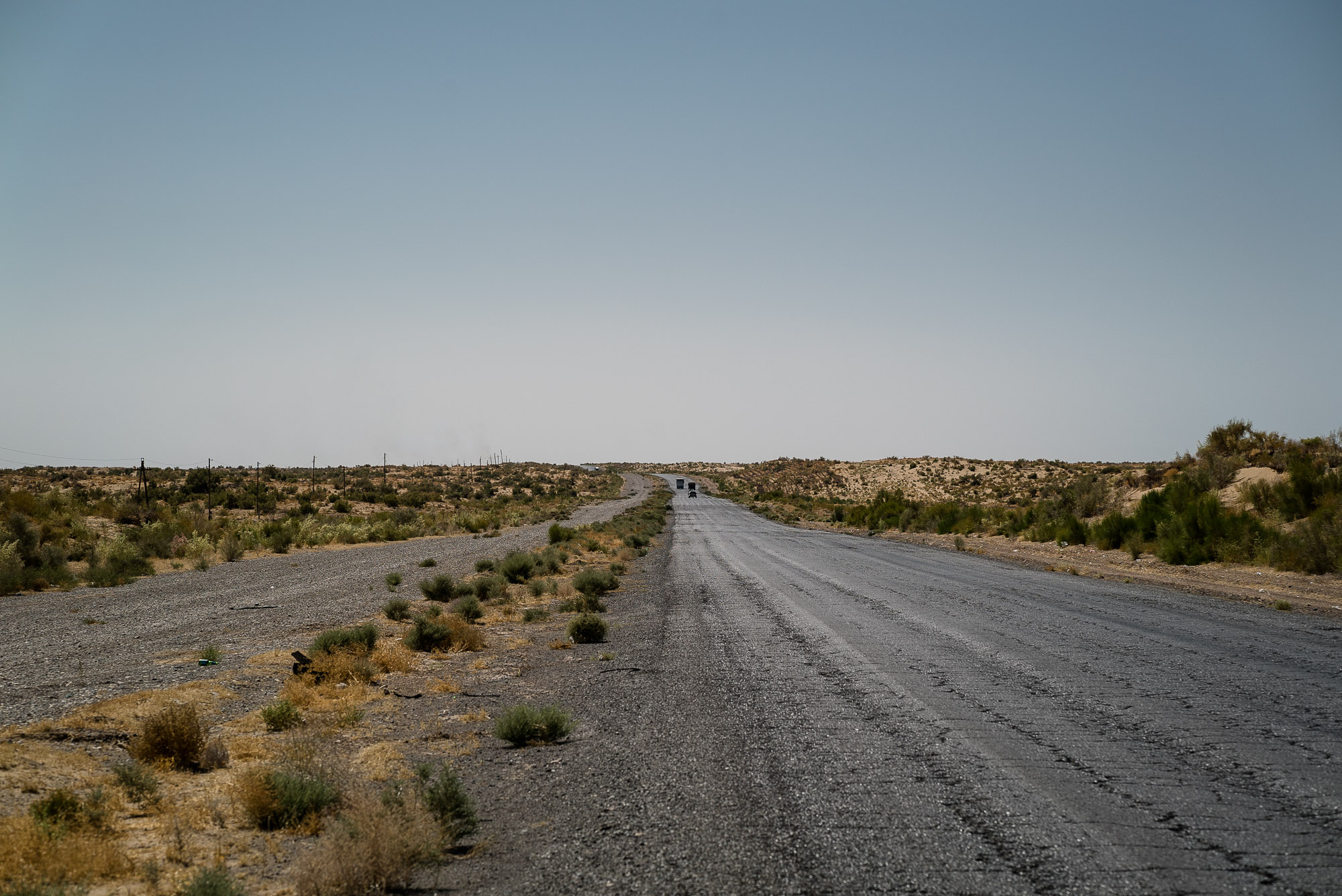 road through Turkmenistan