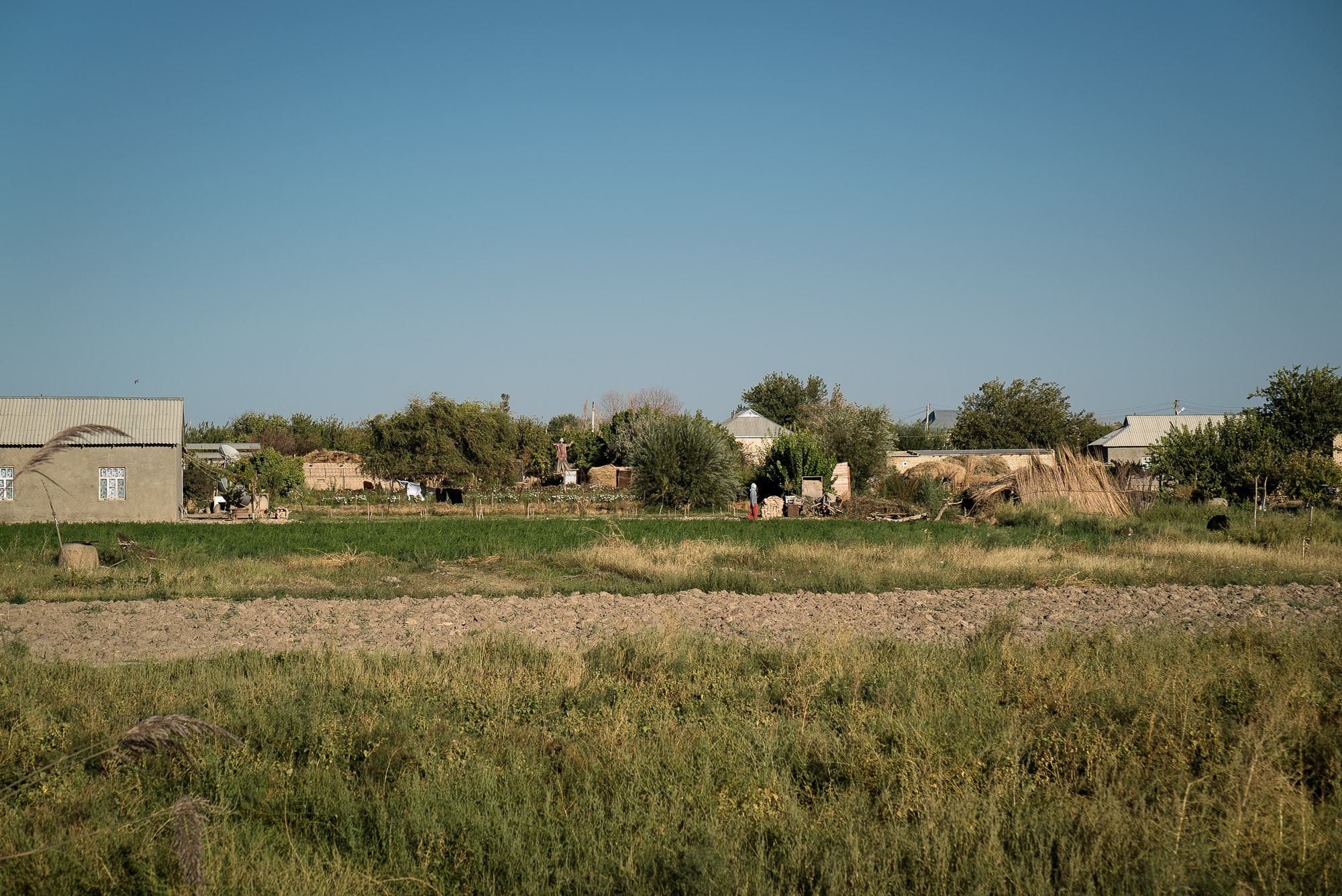 village in Turkmenistan
