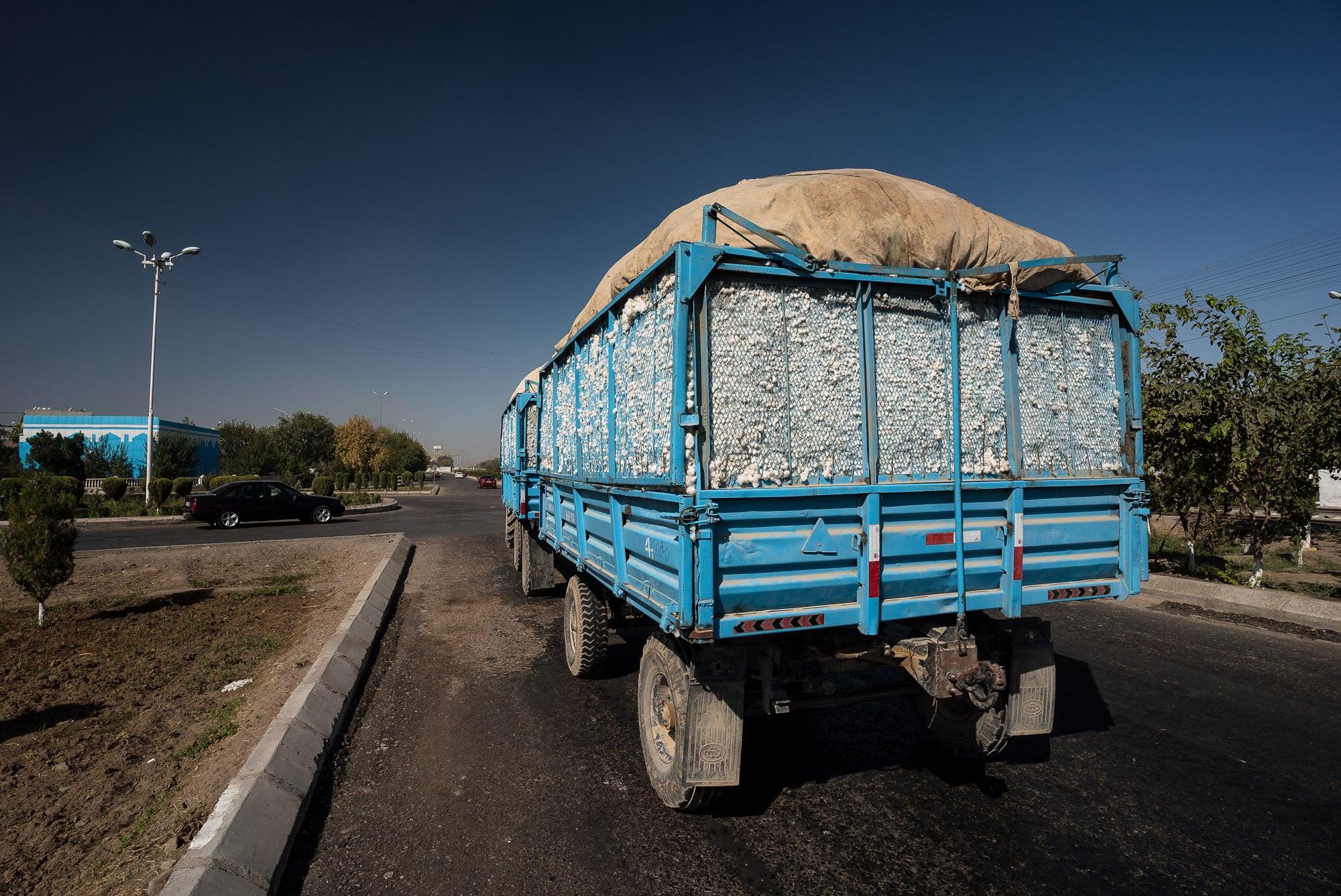 cotton truck