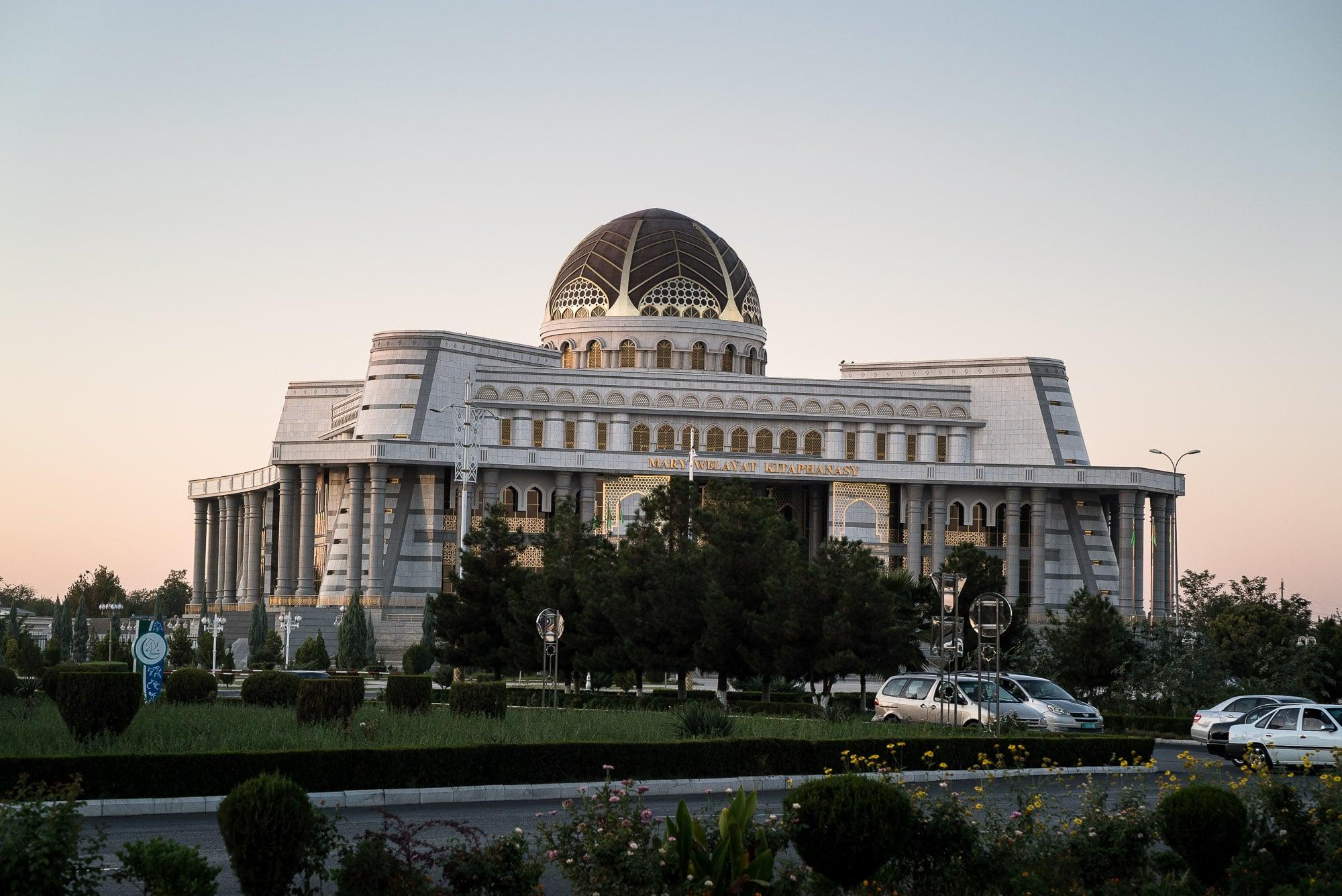 strange big building in Mary