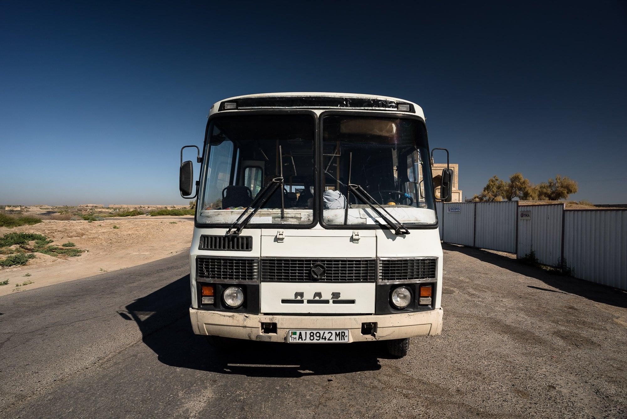 pilgrim bus