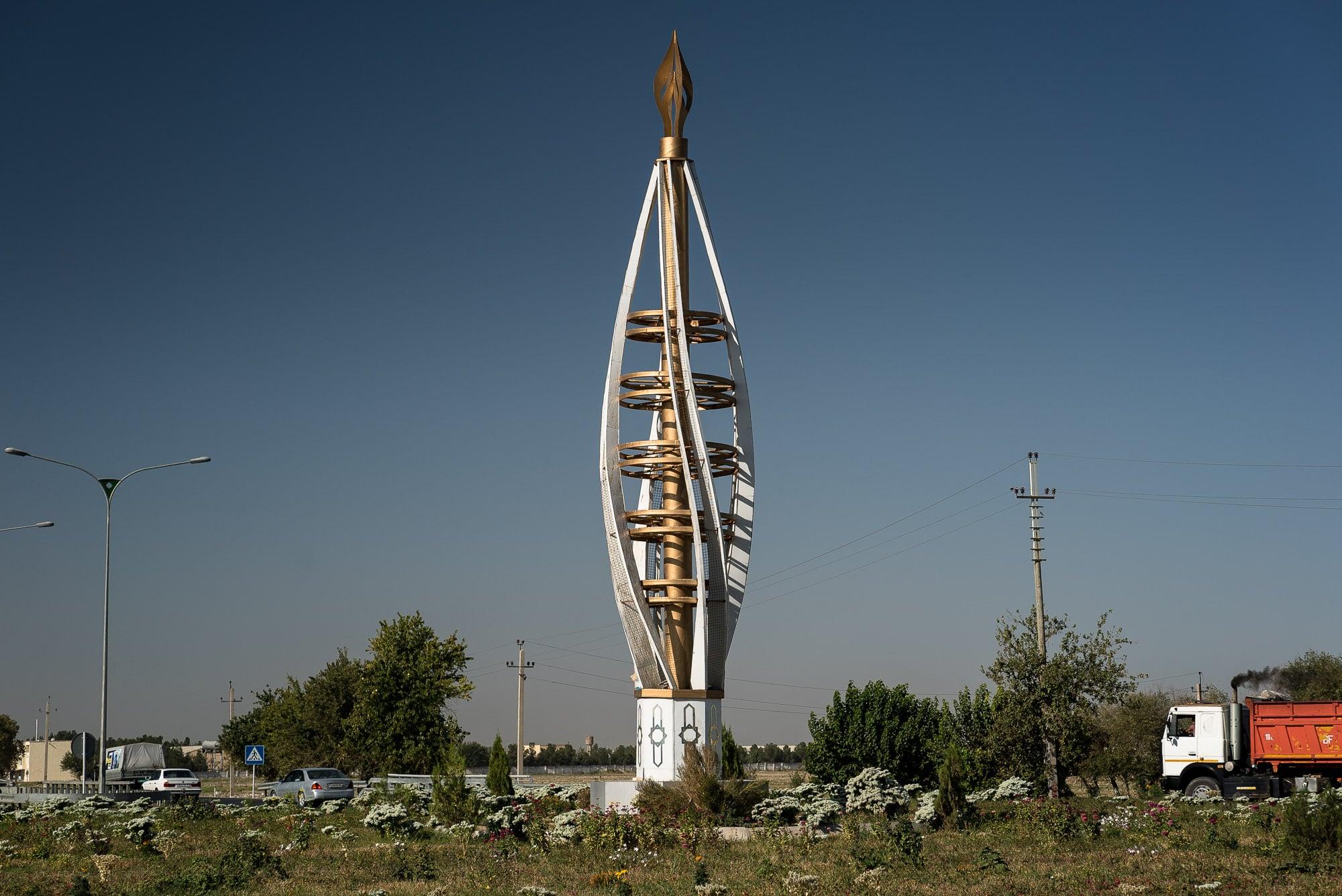 strange monument