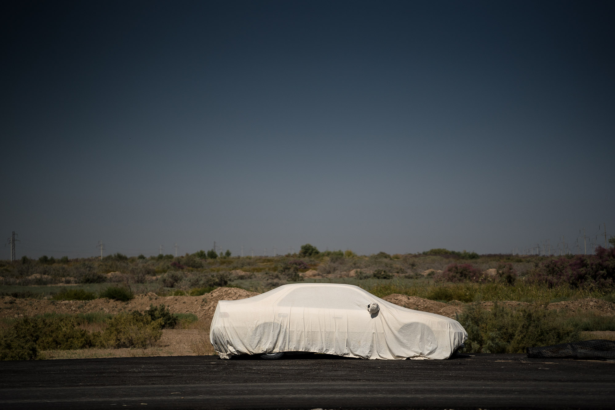 car under cover