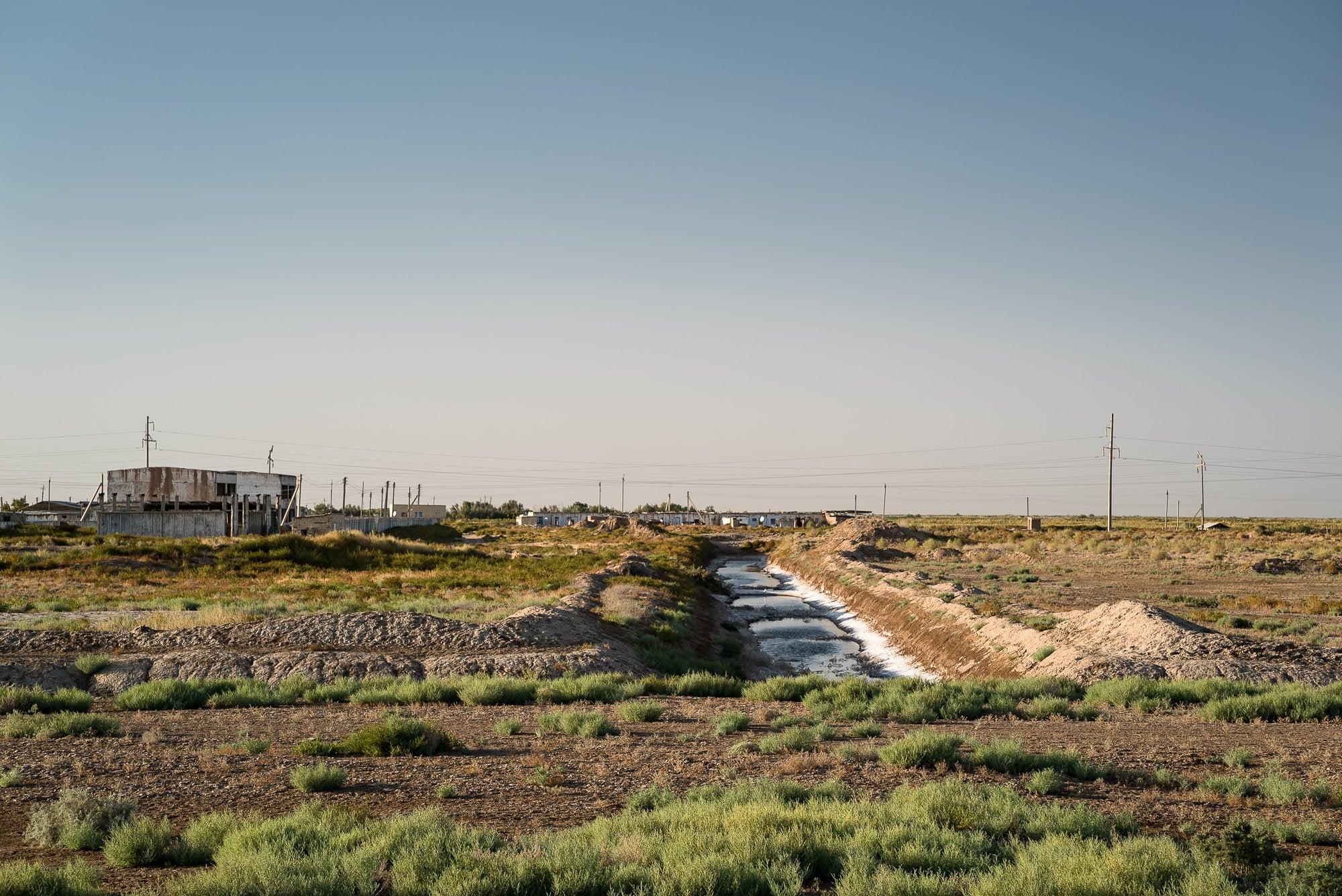 settlement near Mary