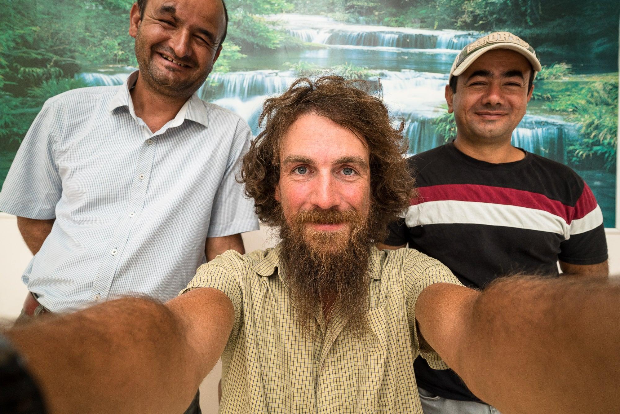 last selfie with Gödzh and Shukur