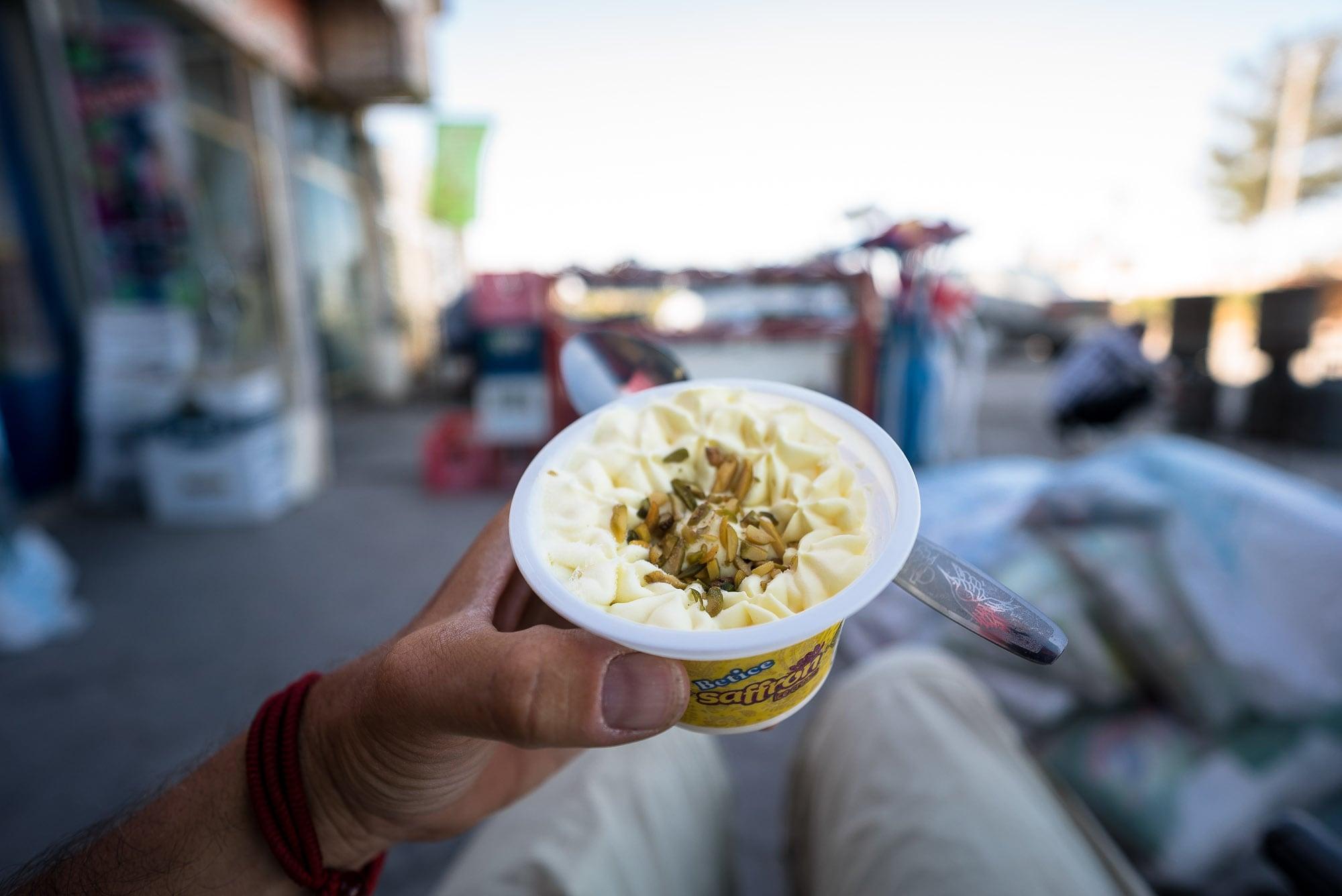 safran ice-cream