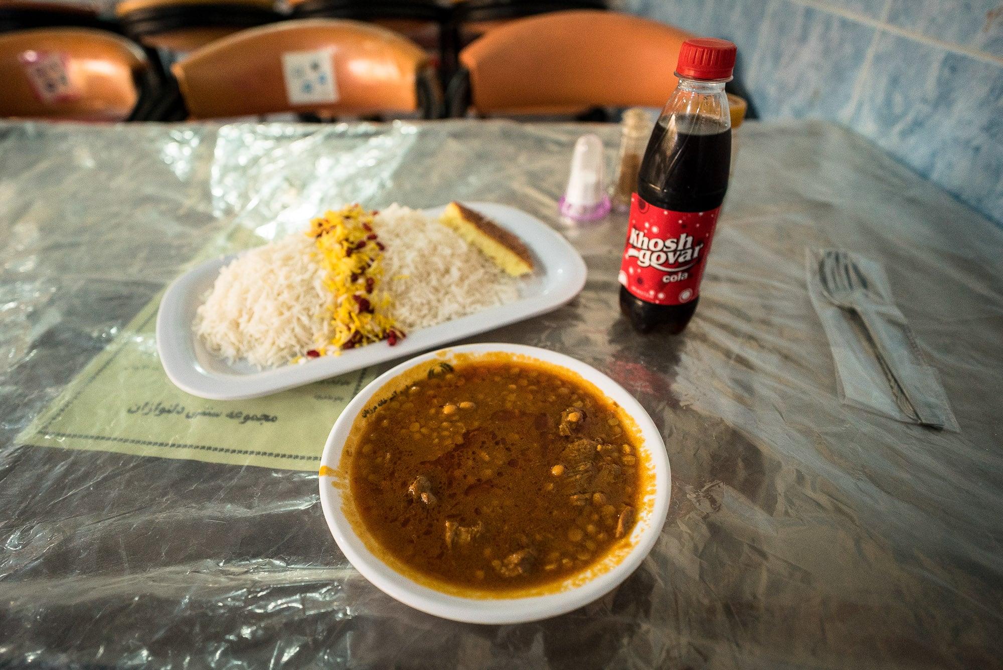 lunch in Sarakhs