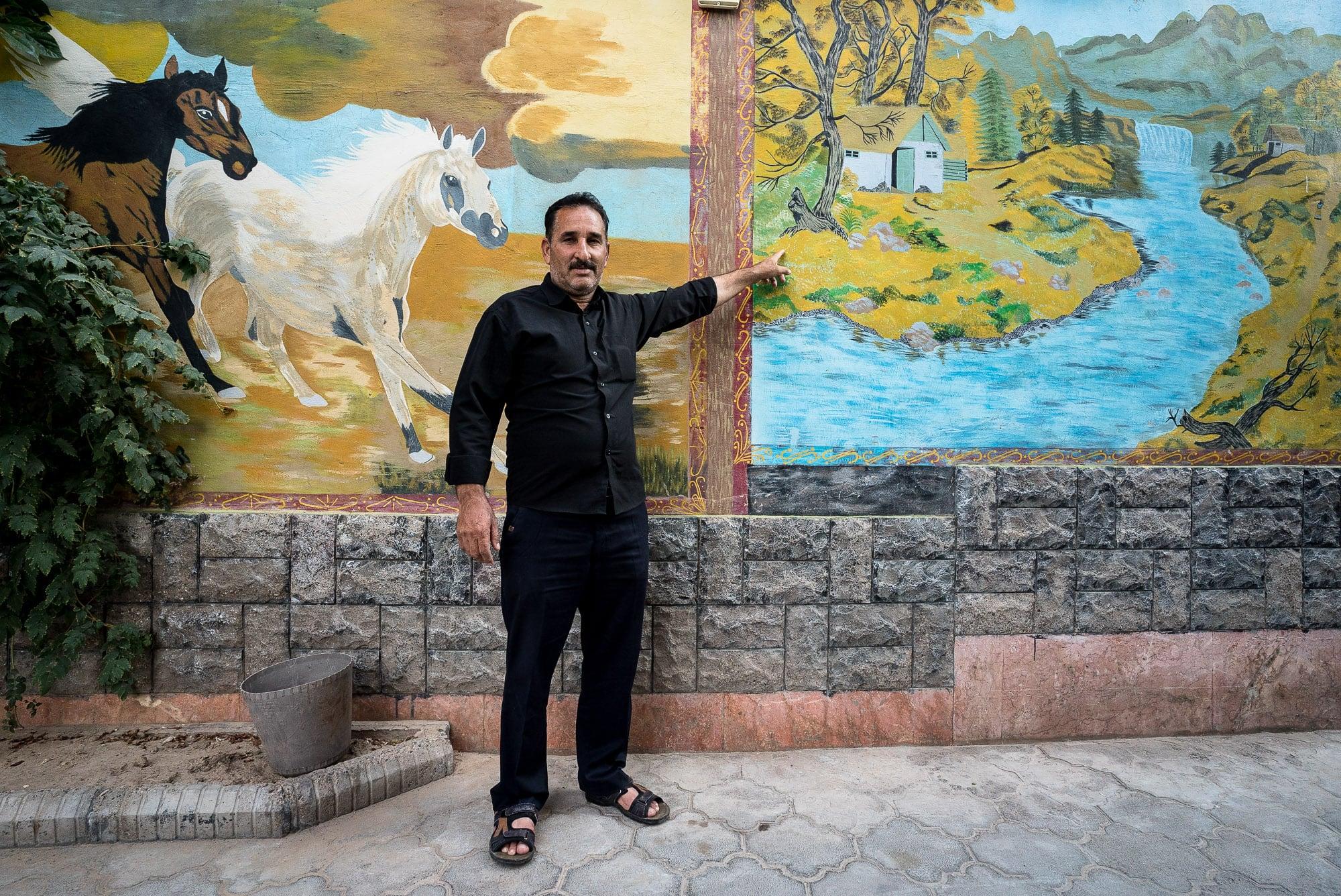 restaurant owner in Sarakhs