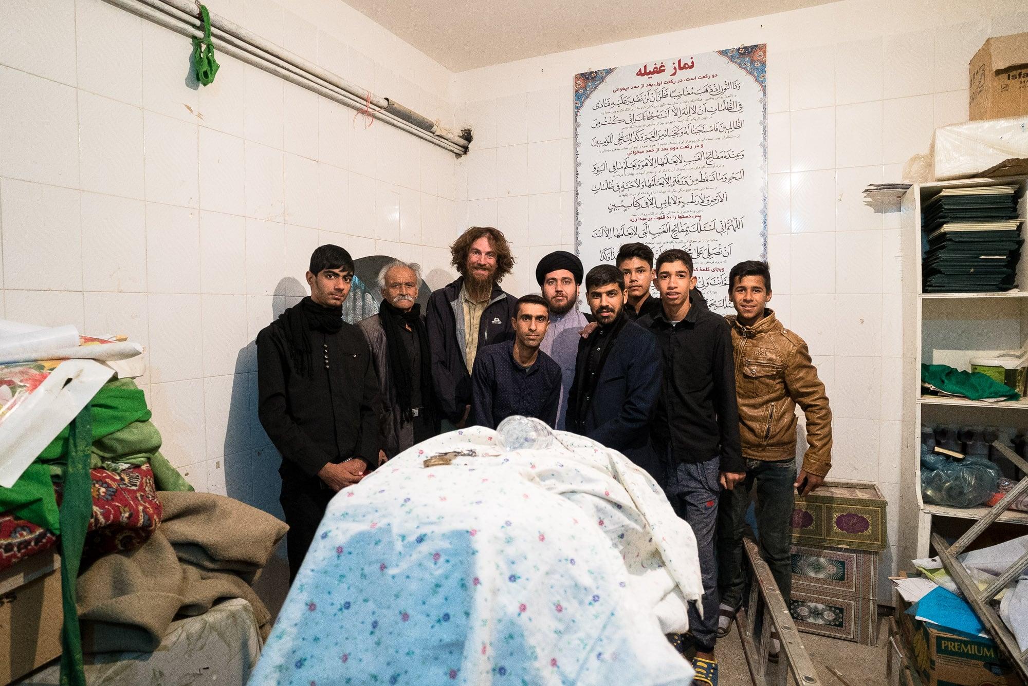 dudes from Gumbazli mosque