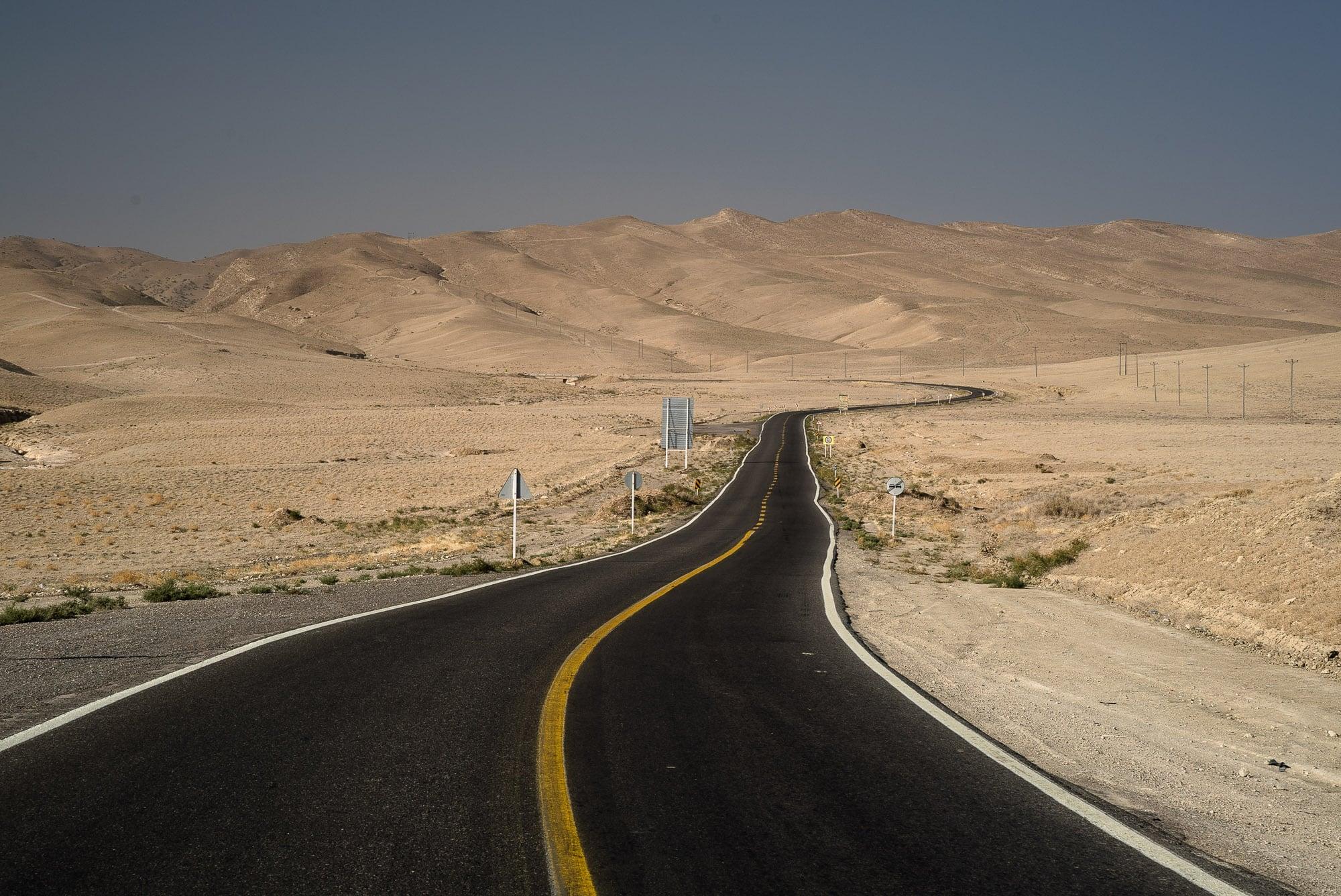 desert road near Shurloq