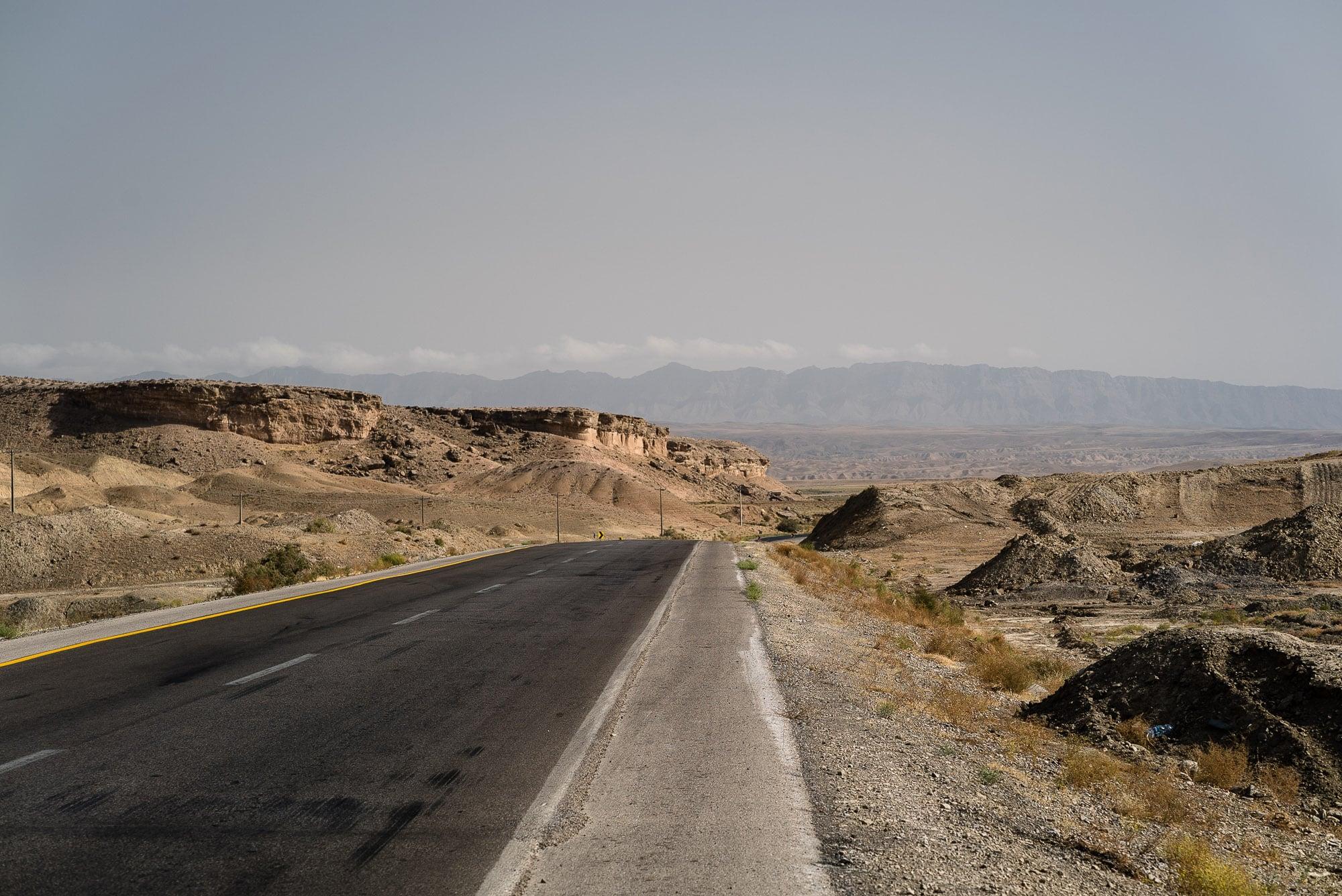 road towards Mashhad