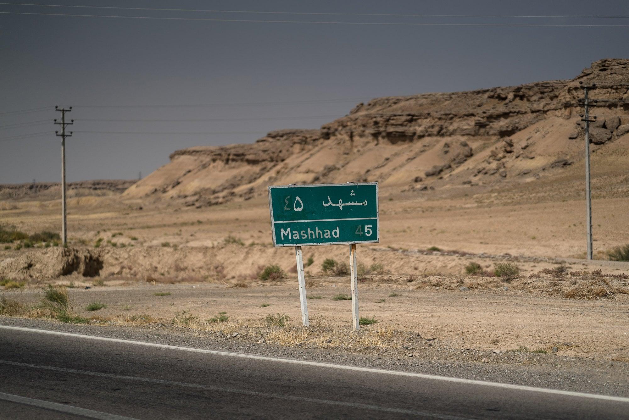 45km to Mashhad