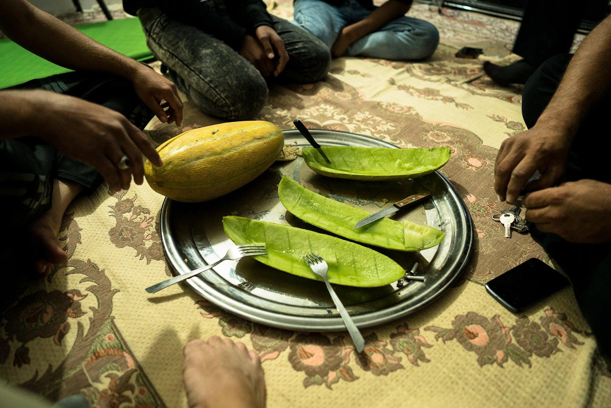 melon at night
