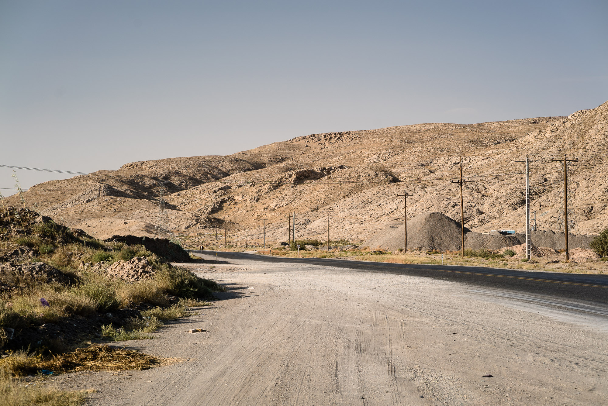 winding road near Mashhad