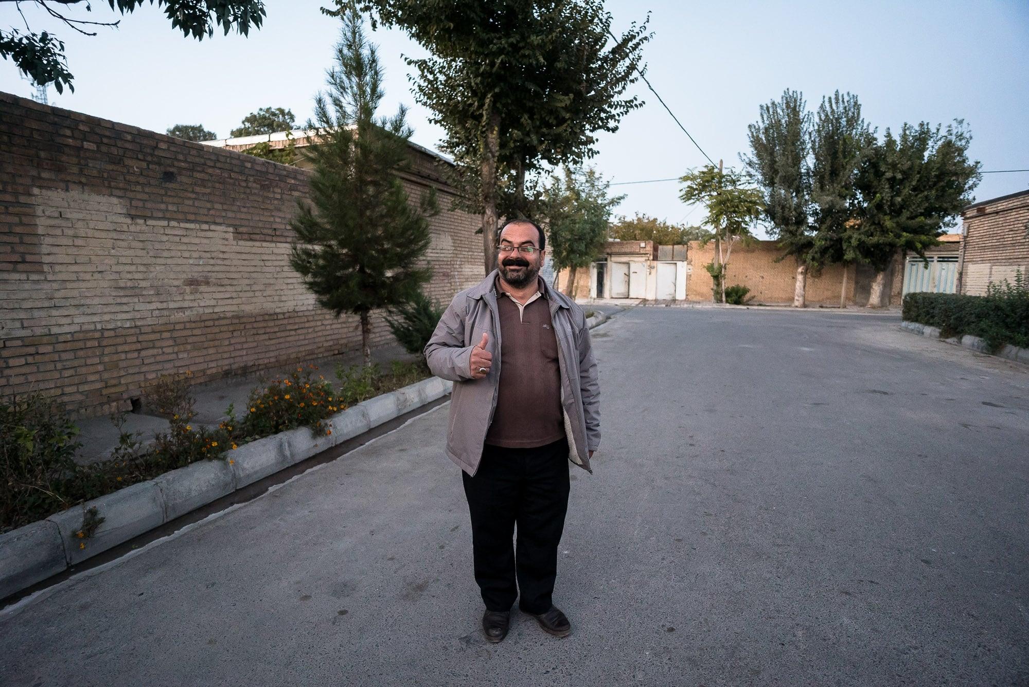 Hassan in Razaviye