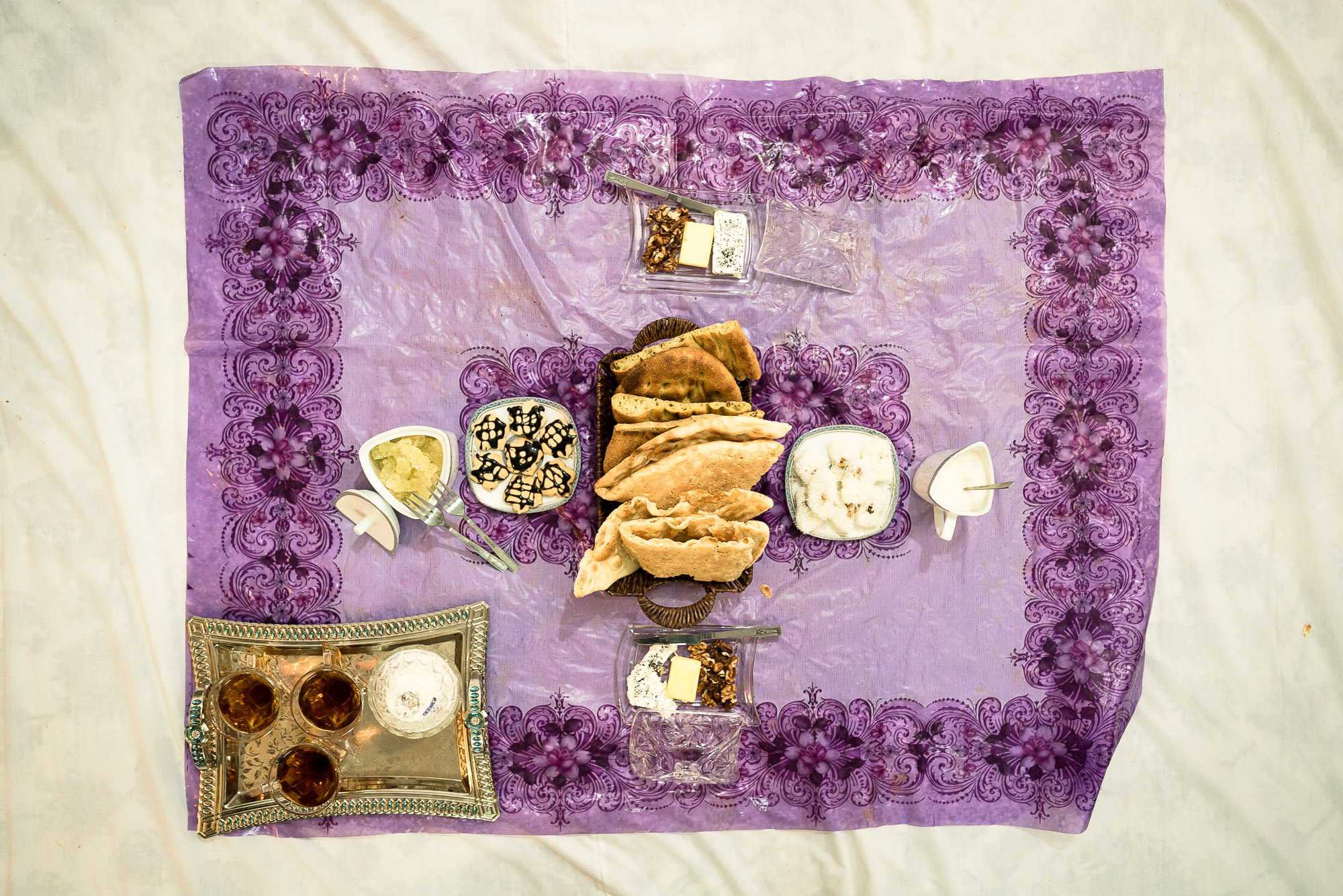 breakfast in Mahdi's place