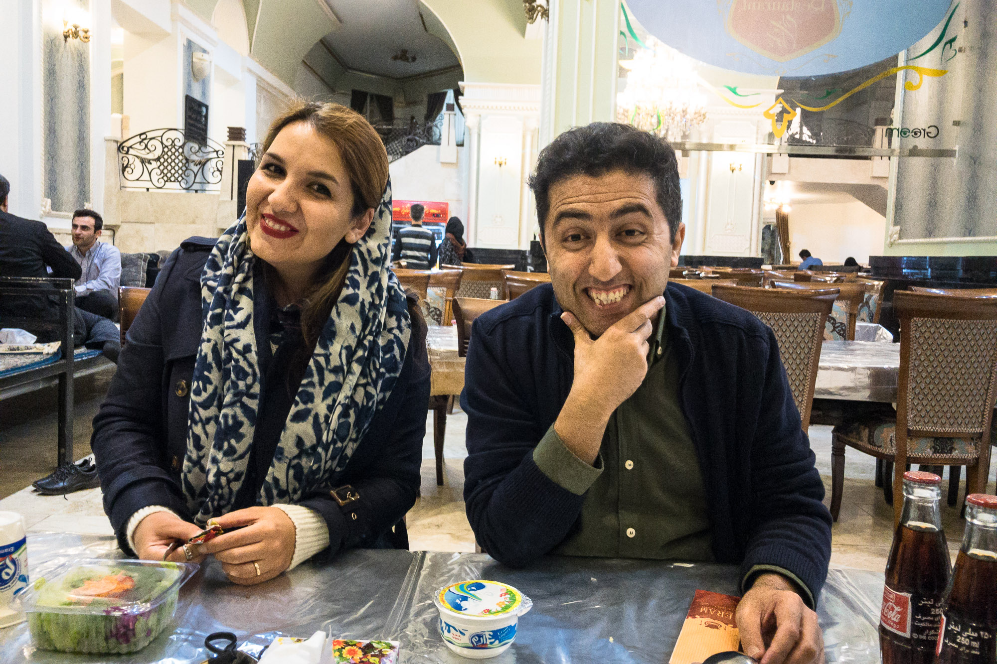 Bahman and his wife