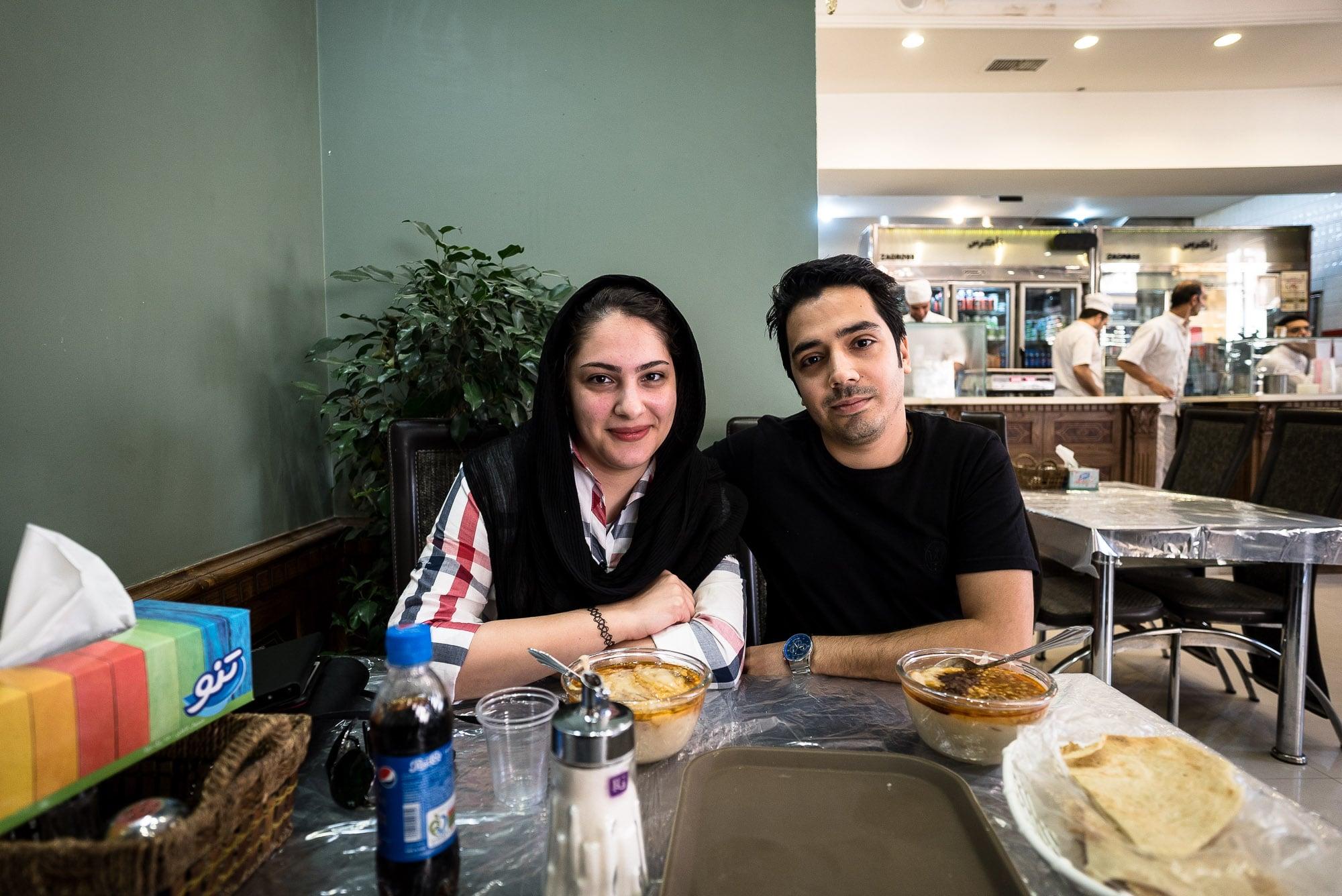Leila and her husband