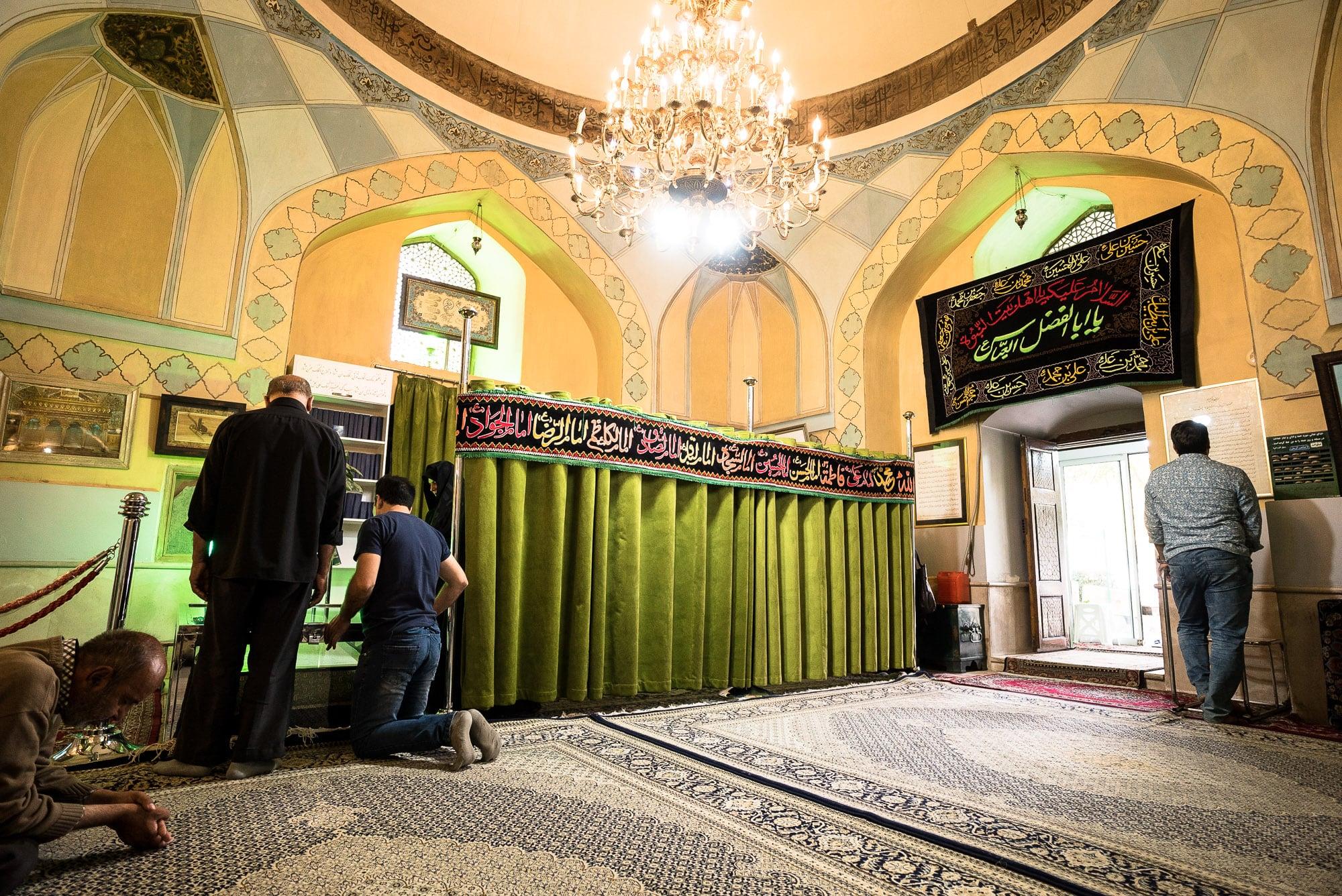 inside Gonbad Sabz