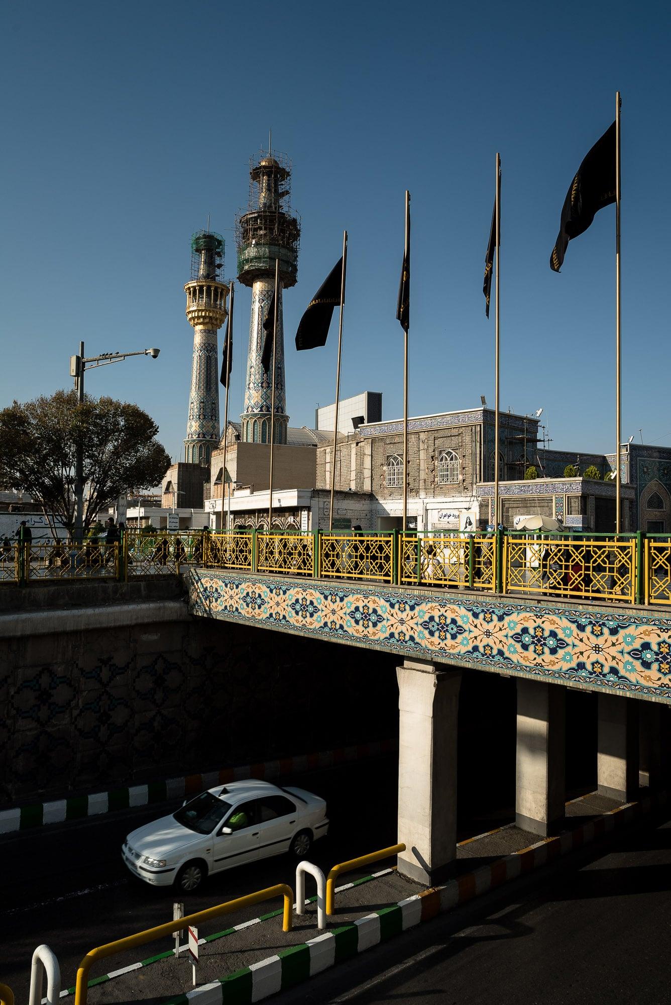 underground of the shrine of Imam Reza
