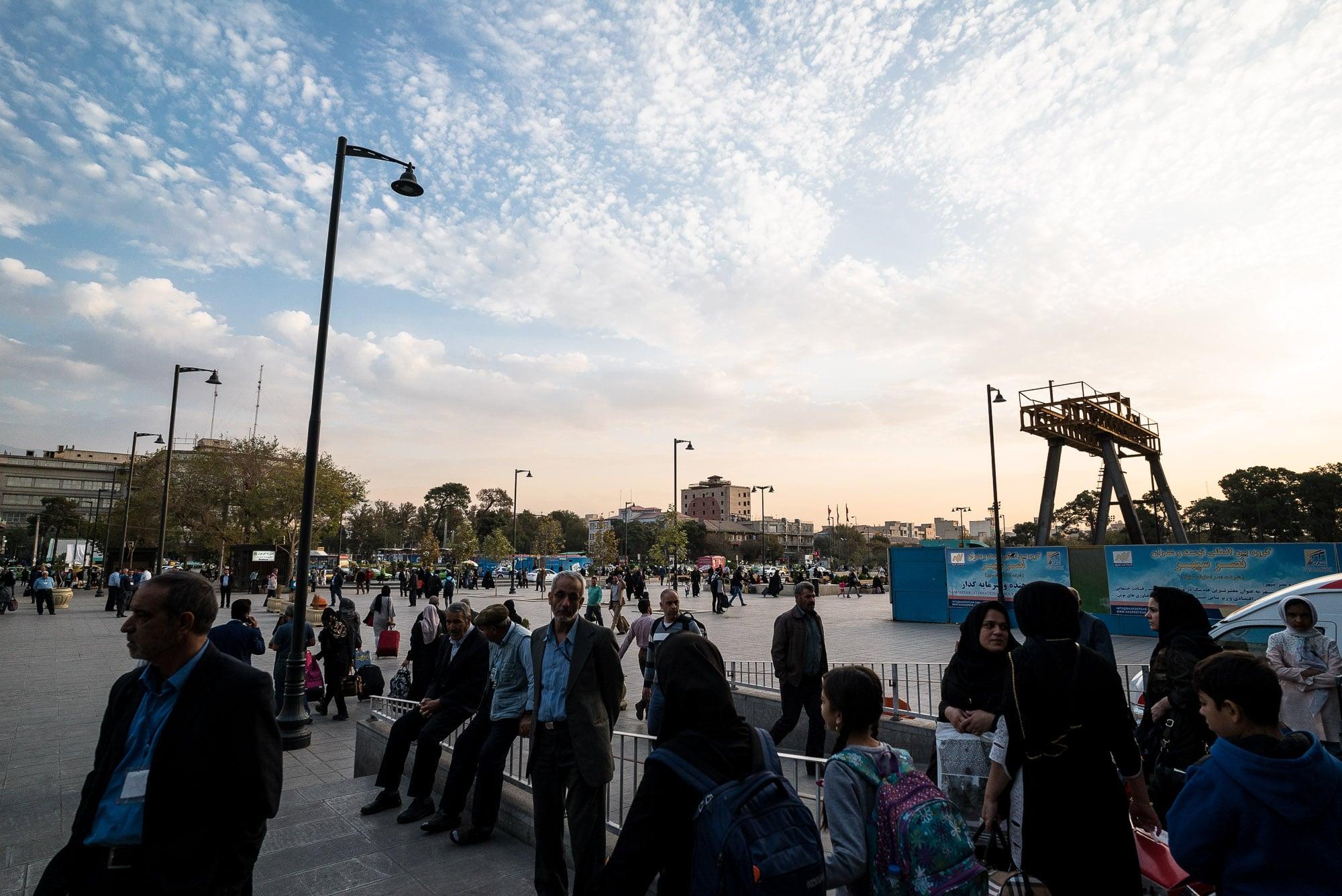 a glimpse of Tehran